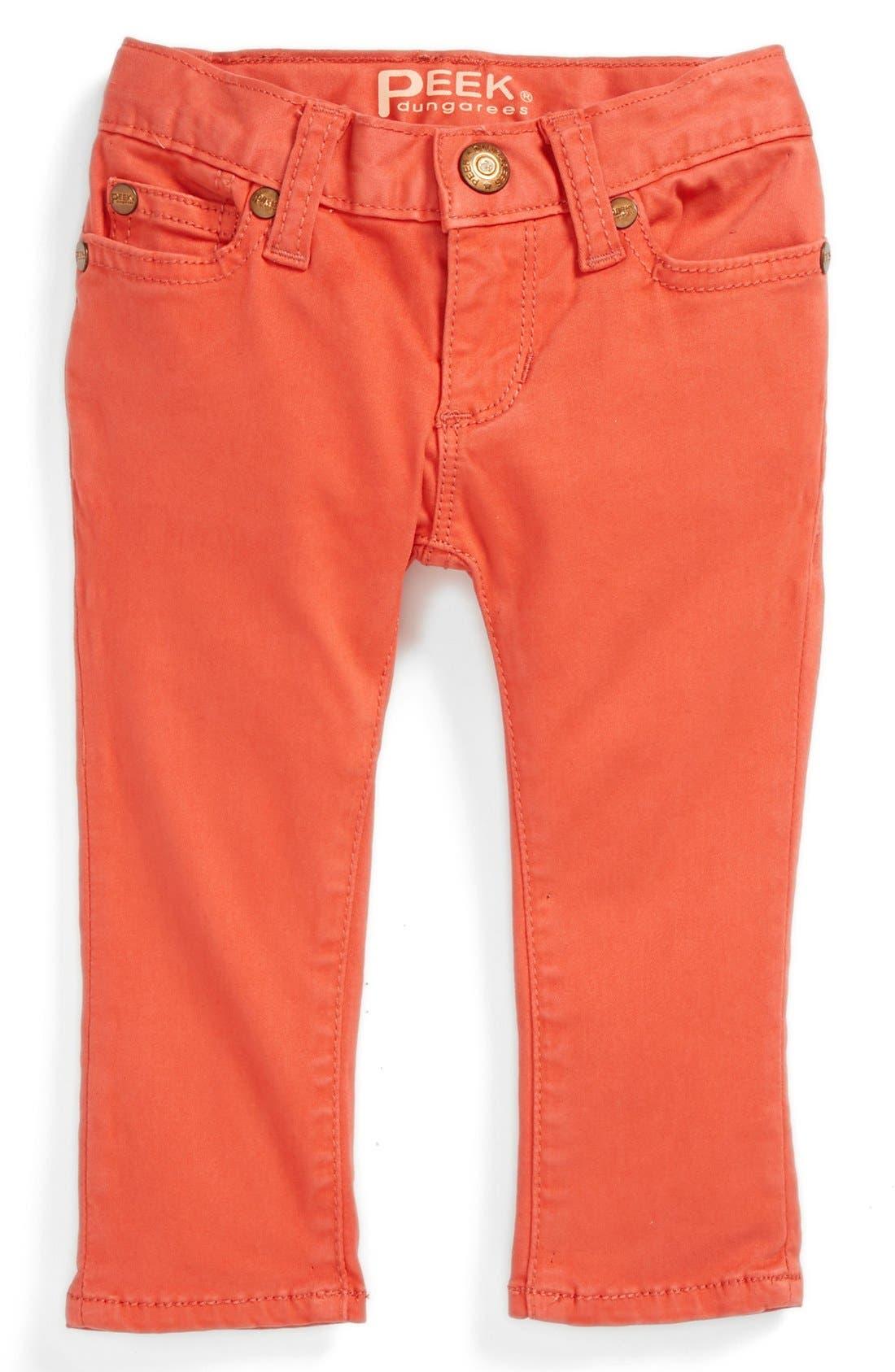 Alternate Image 2  - Peek 'Maya' Jeans (Baby Girls)