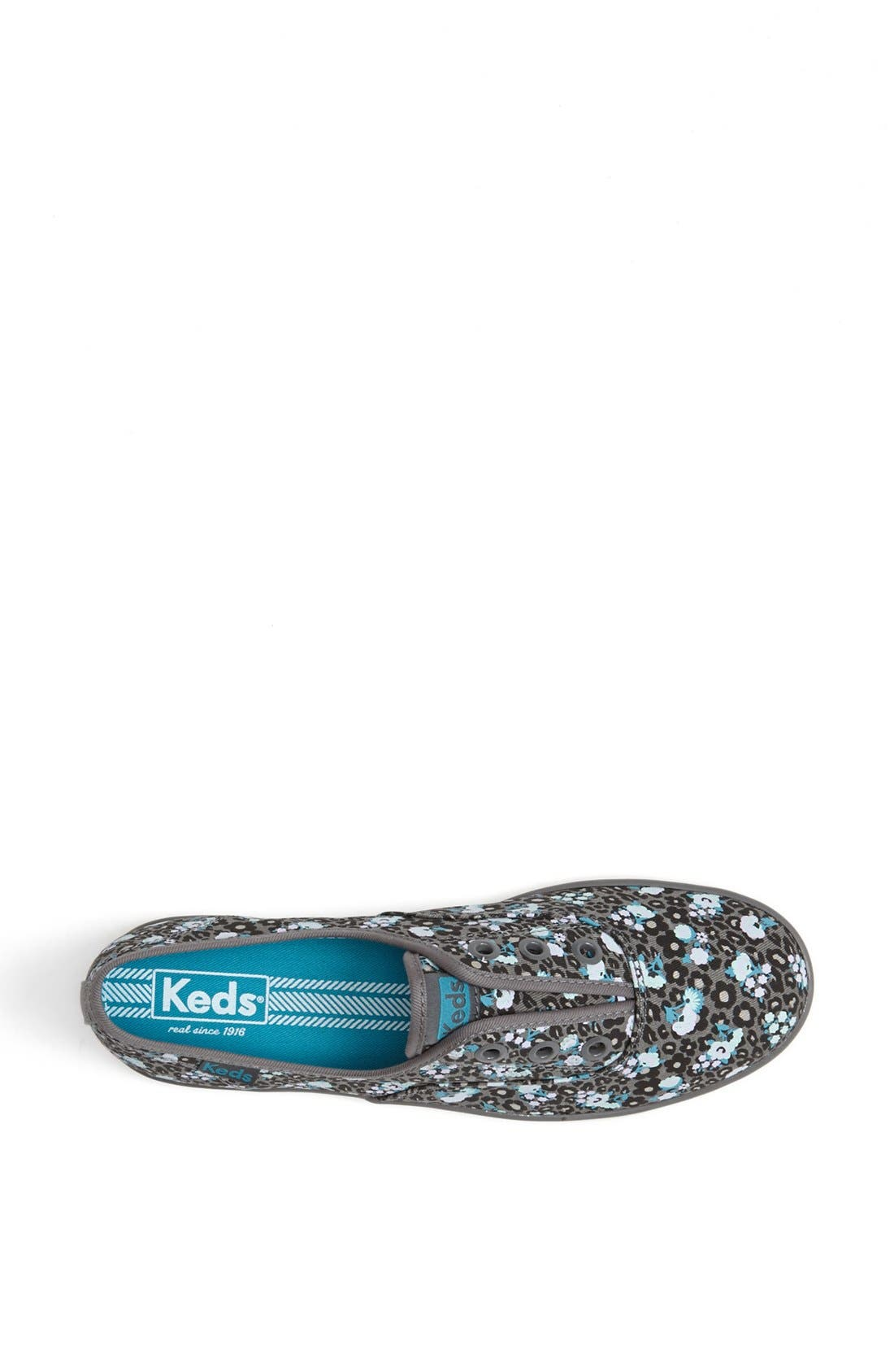 Alternate Image 3  - Keds® 'Rookie - Leopard Floral' Laceless Sneaker (Women)