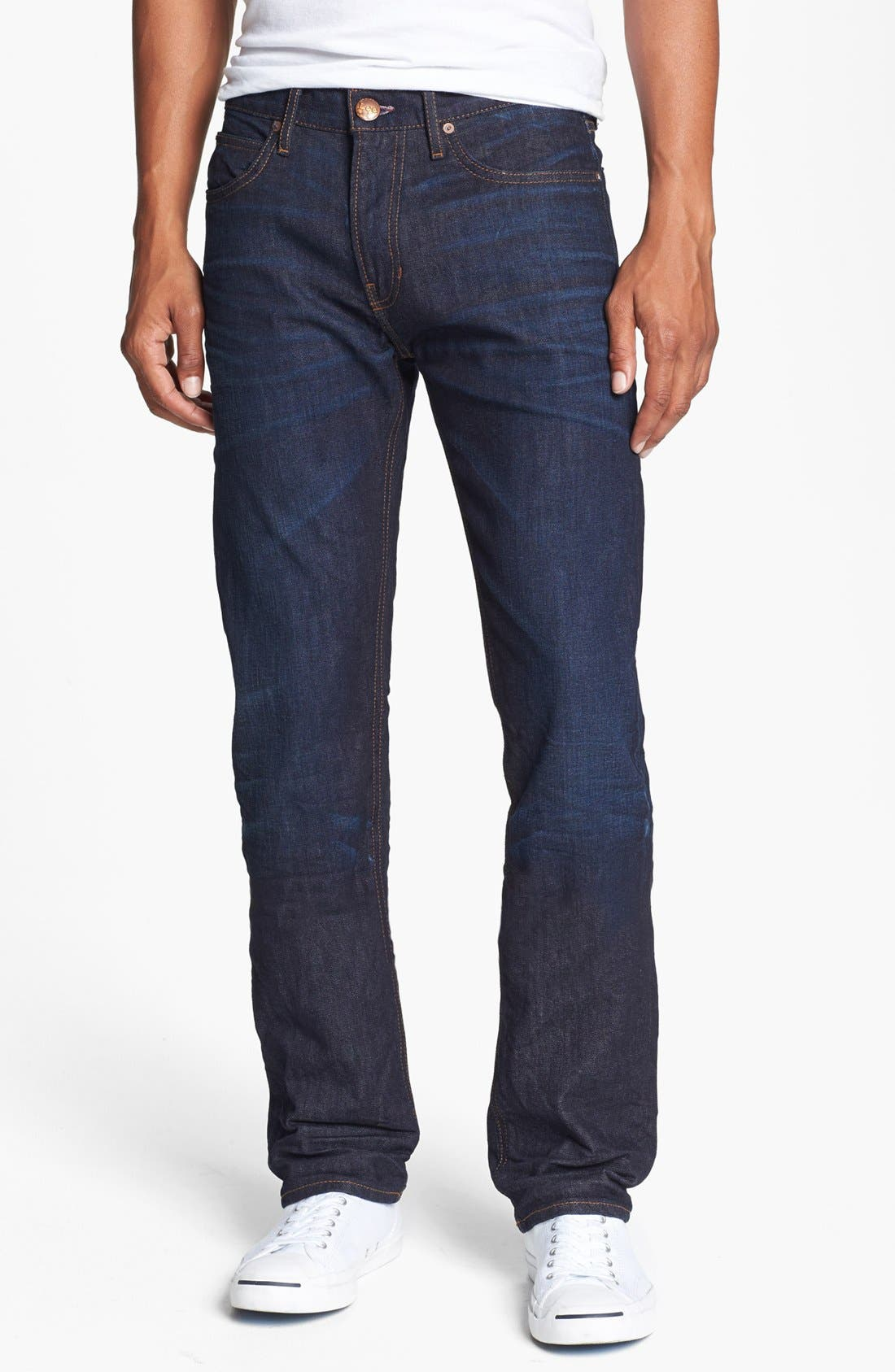 Alternate Image 1 Selected - Lee 101 USA Straight Leg Jeans (30 Days)