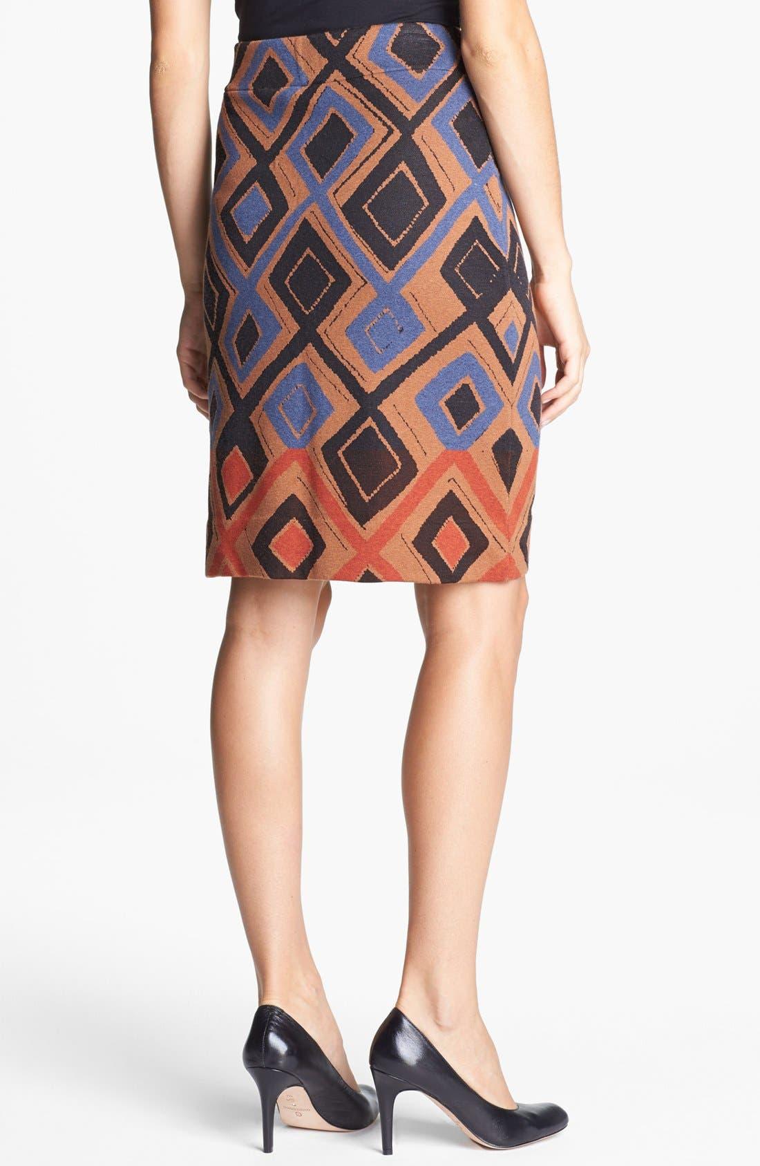 Alternate Image 2  - NIC+ZOE 'Falling Diamonds Wink' Skirt (Petite)