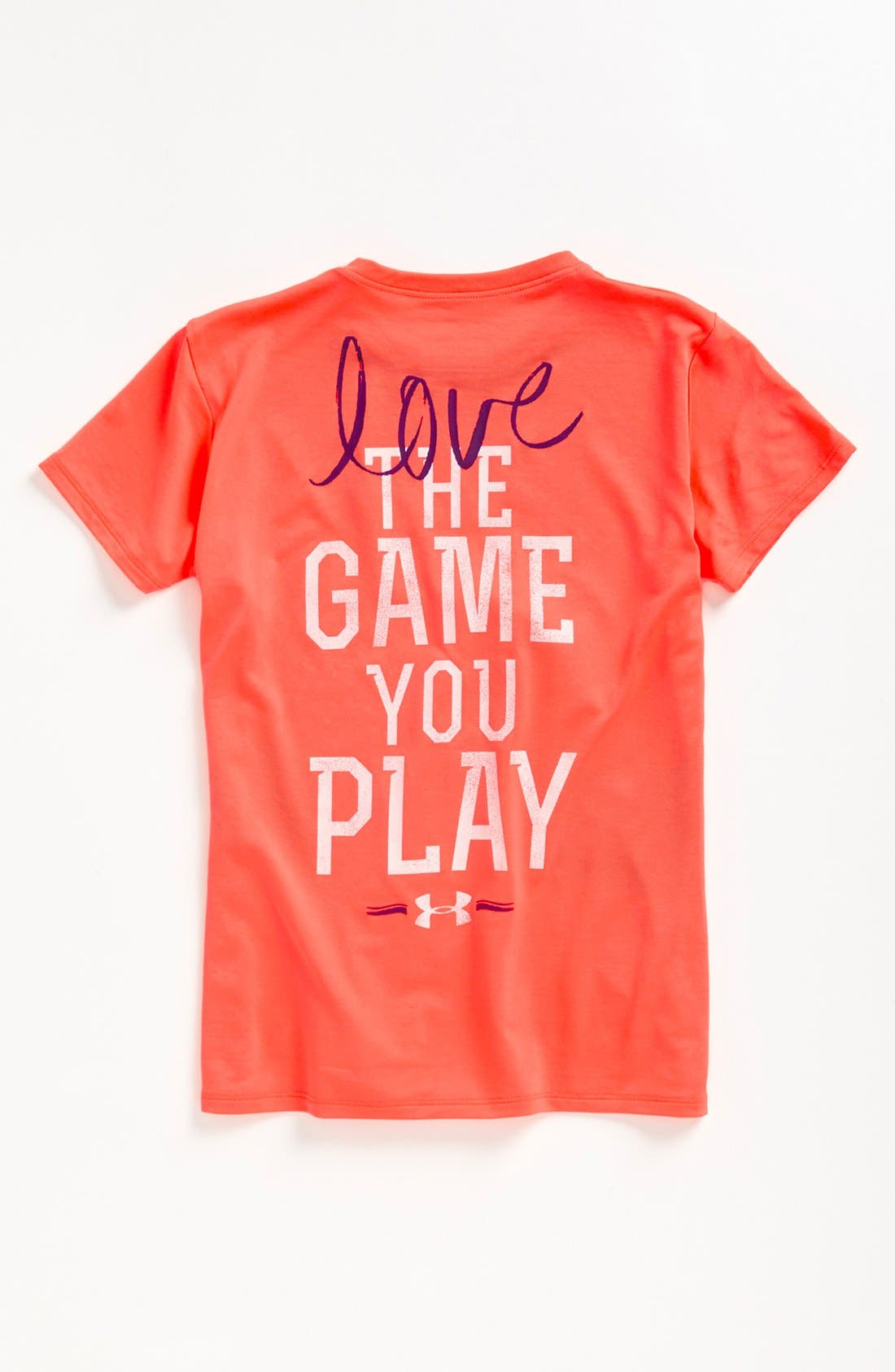 Alternate Image 2  - Under Armour 'Play the Game' Graphic Tee (Big Girls)
