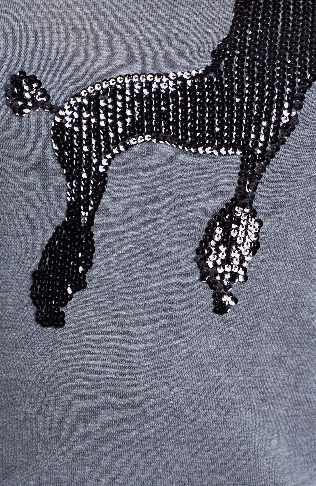 Alternate Image 3  - Halogen® Crewneck Sweater (Plus Size)