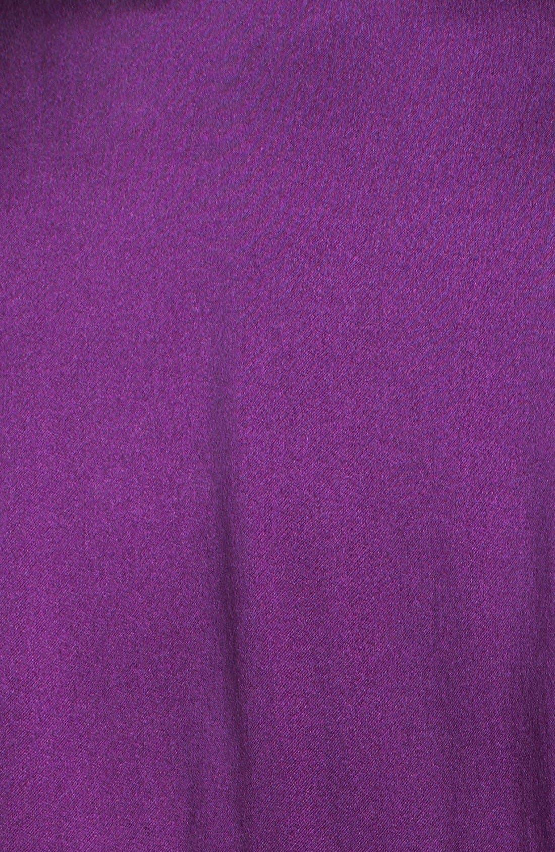 Alternate Image 3  - Donna Karan 'Glamour' Silk Pajamas