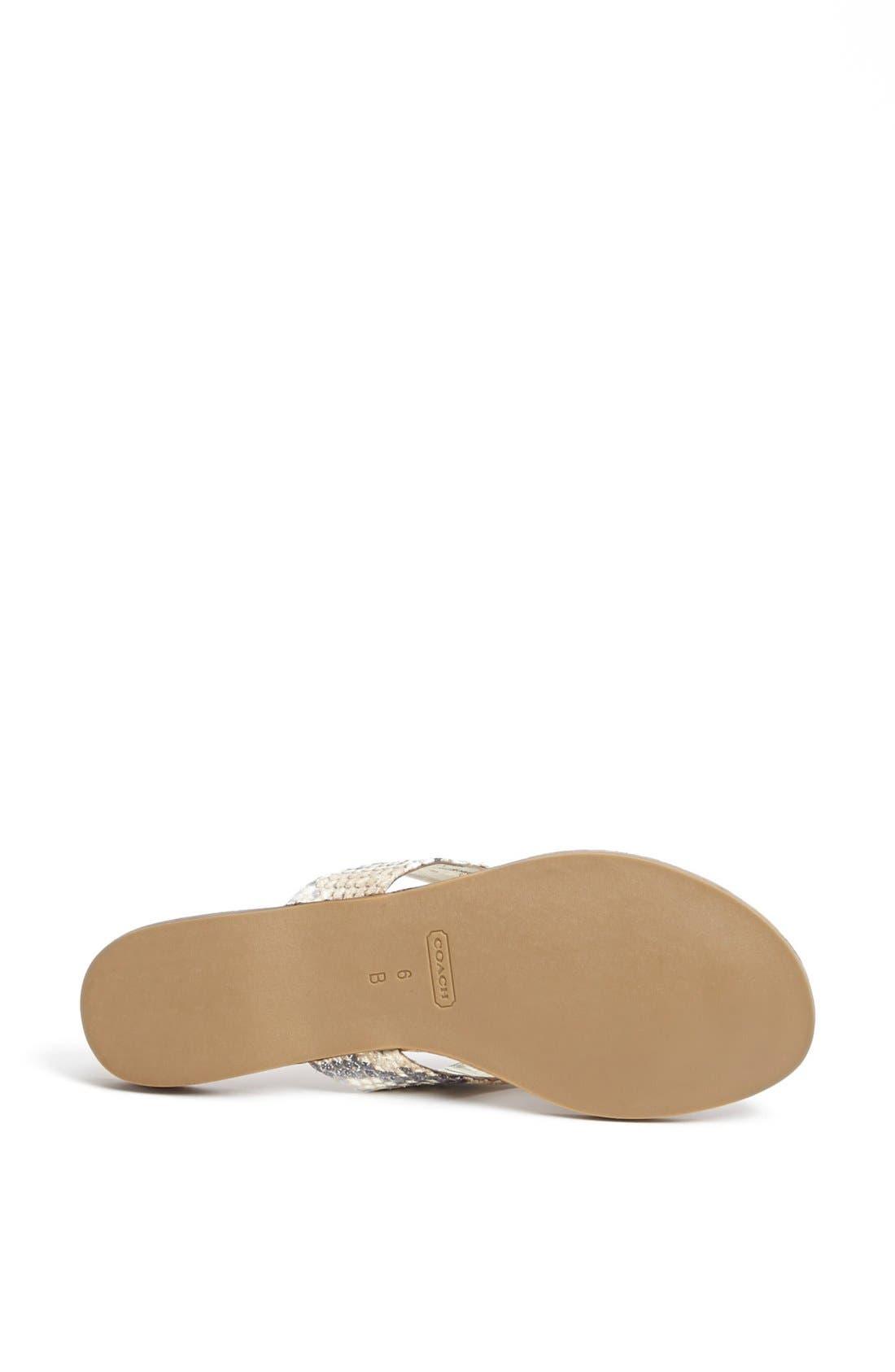 Alternate Image 4  - COACH 'Sable' Flip Flop