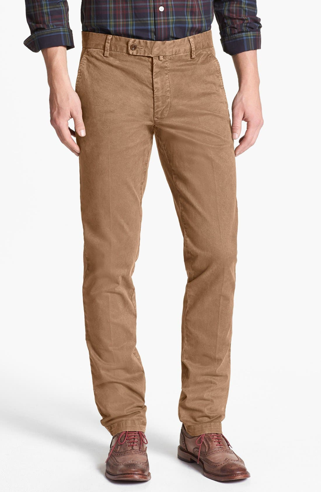 Alternate Image 1 Selected - Gant 'Butter' Twill Chinos