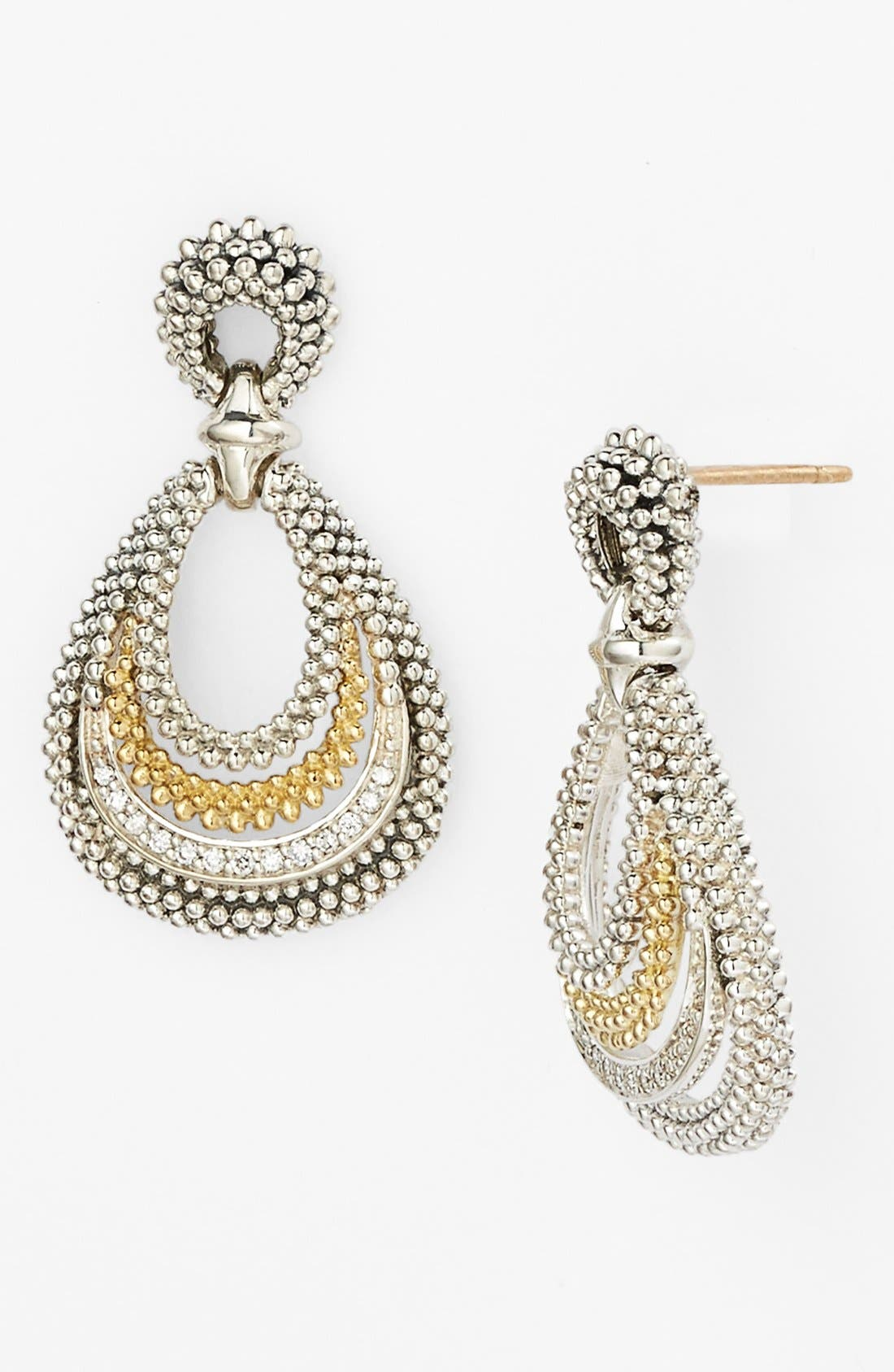 Alternate Image 1 Selected - Lagos 'Soiree' Teardrop Earrings