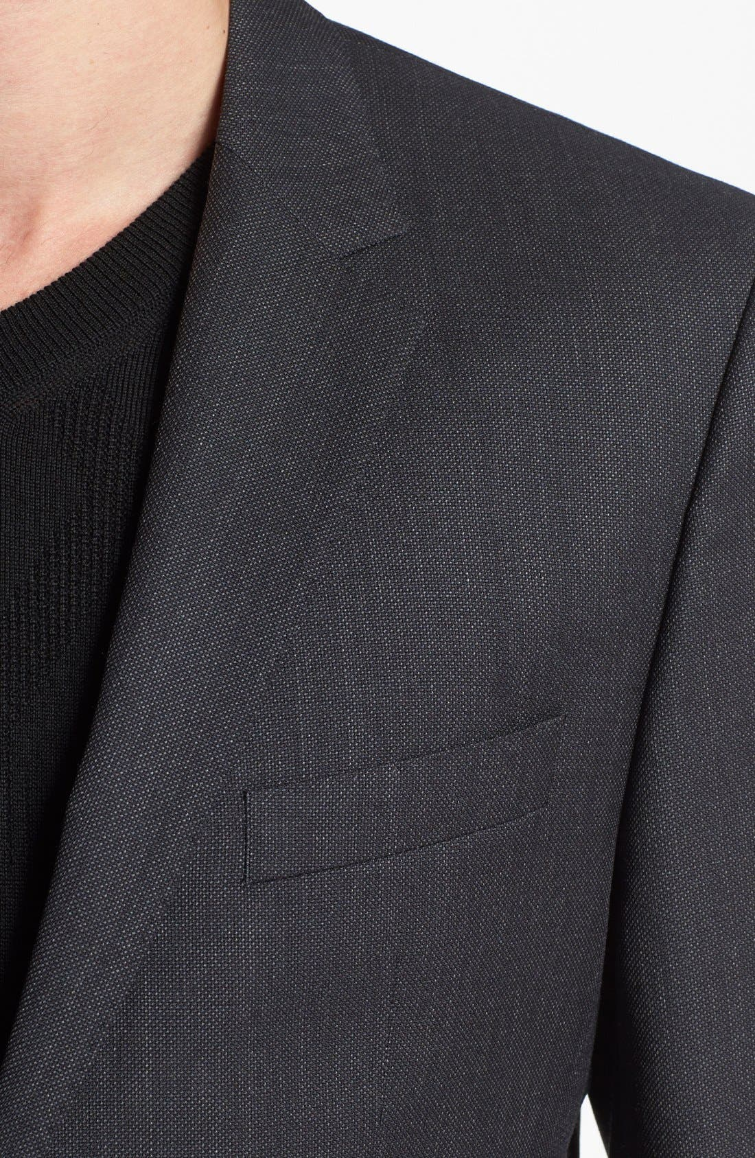 Alternate Image 5  - BOSS HUGO BOSS 'Keys/Shaft' Trim Fit Wool Suit