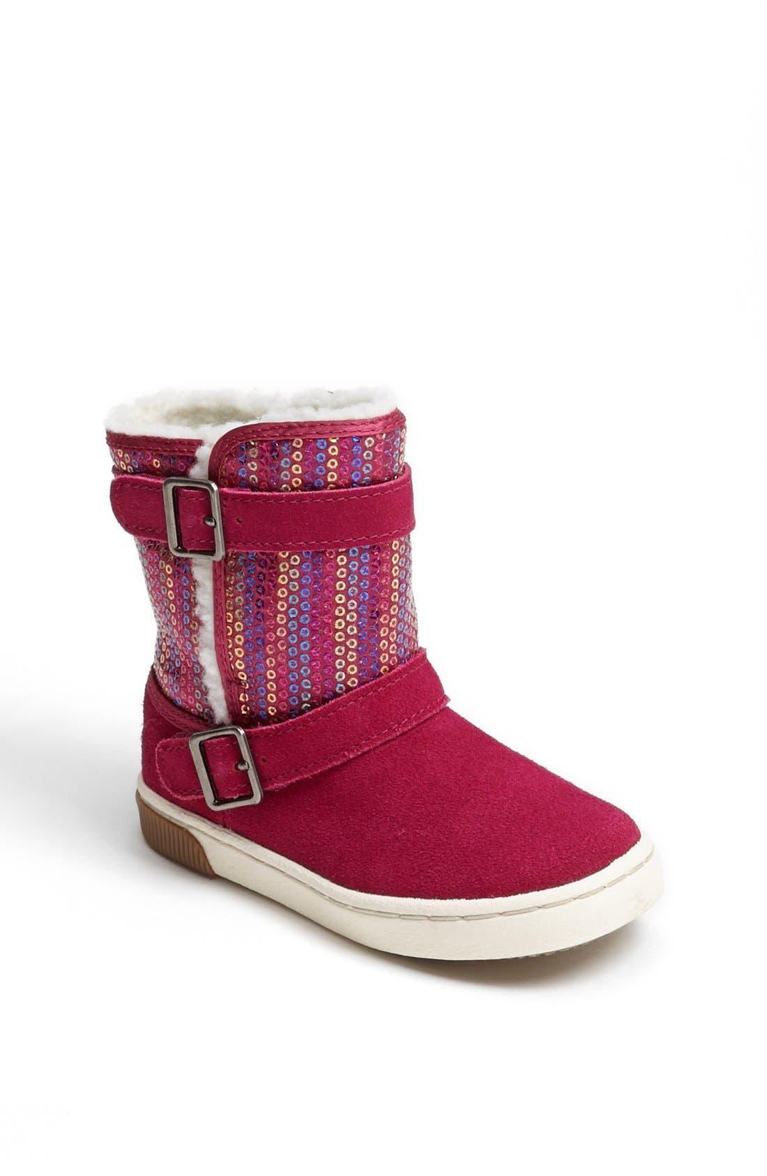 Alternate Image 1 Selected - Stride Rite 'Safi' Boot (Baby, Walker & Toddler)