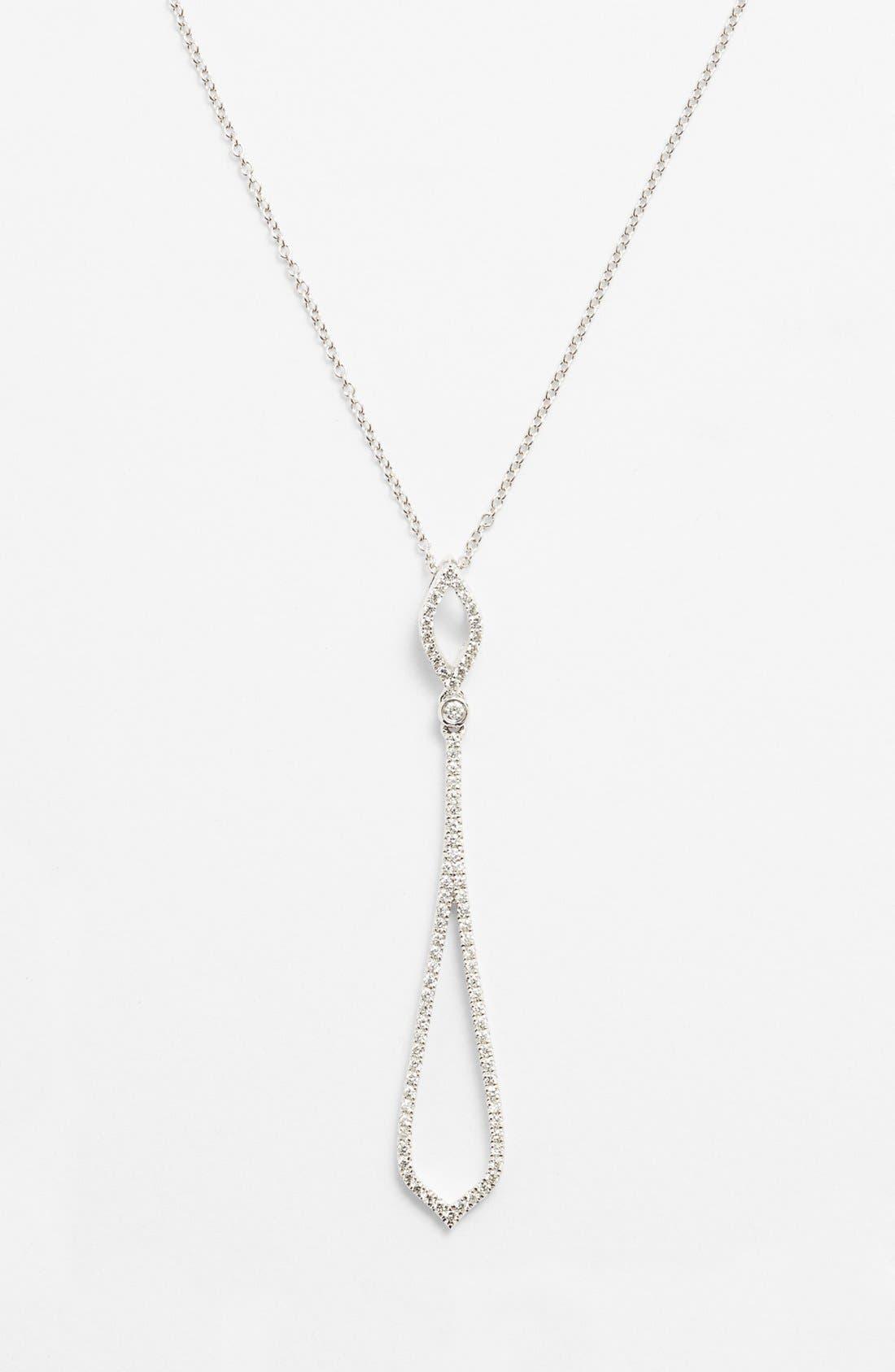 Main Image - Bony Levy Pavé Diamond Pendant Necklace (Nordstrom Exclusive)