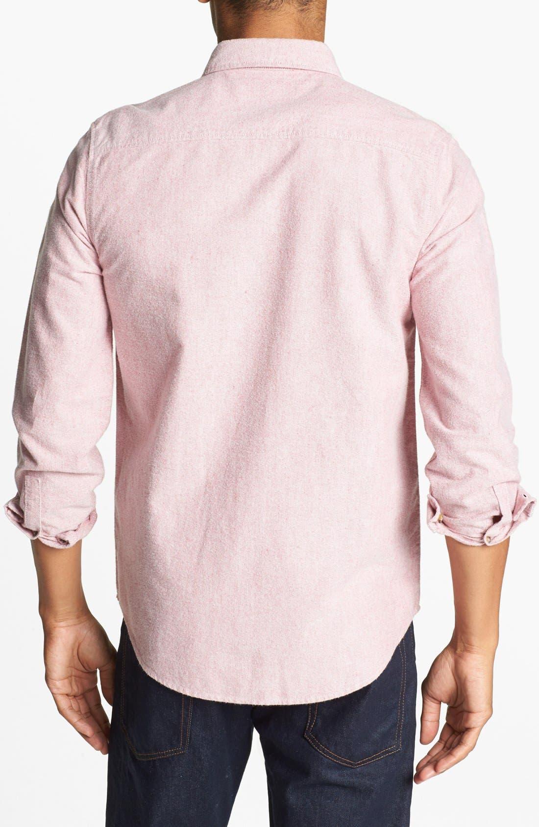 Alternate Image 2  - Topman Oxford Cloth Shirt