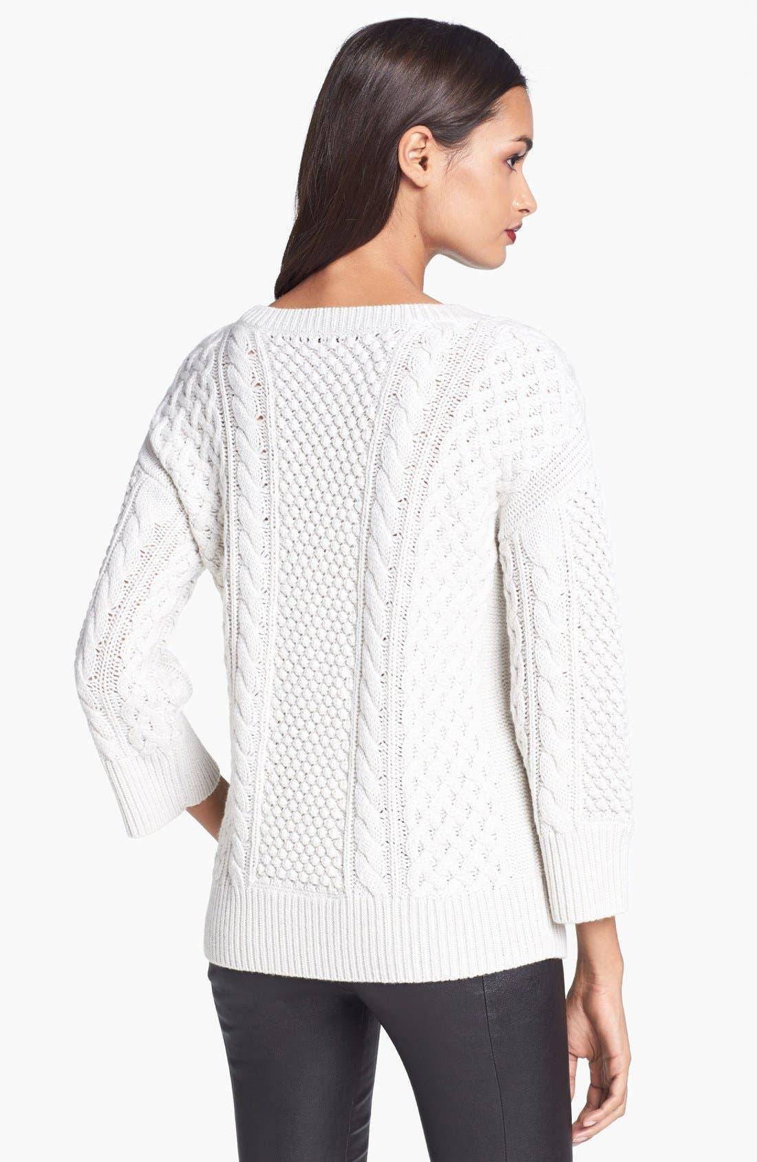 Alternate Image 2  - Trina Turk 'Haya' Merino Wool Sweater