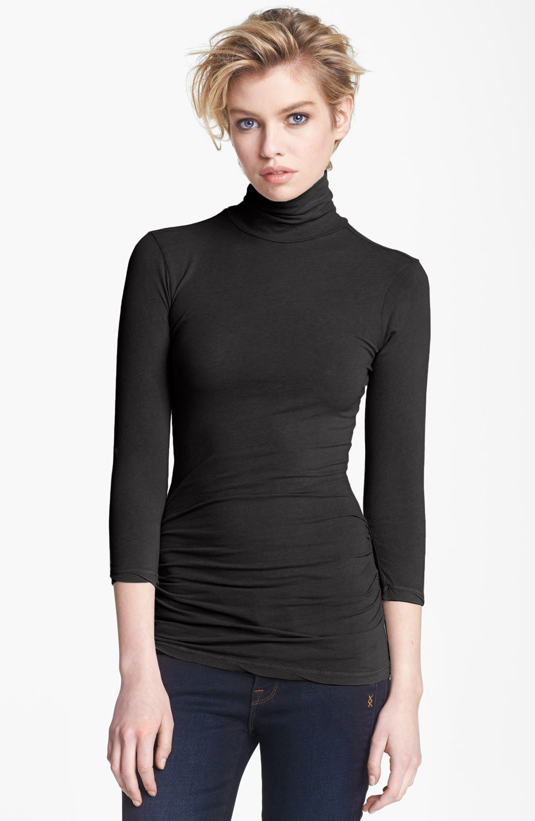 Main Image - James Perse Skinny Turtleneck Top