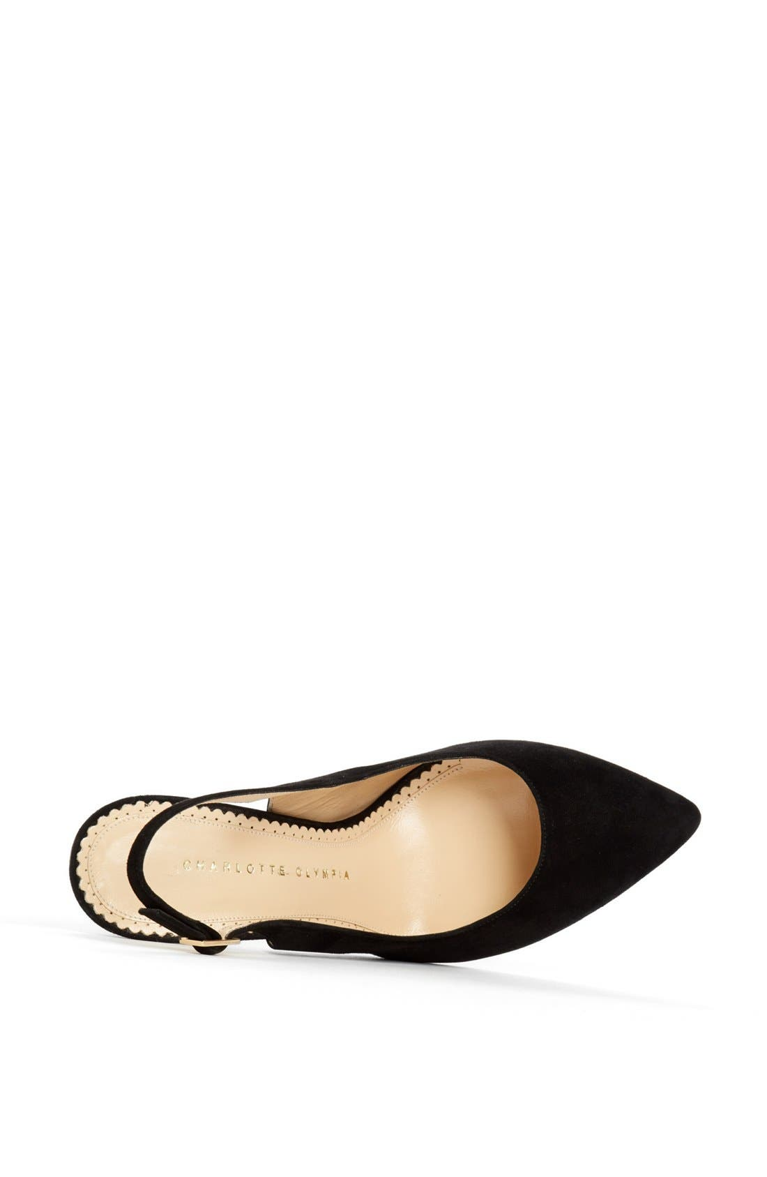Alternate Image 3  - Charlotte Olympia 'Monroe' Slingback Pointy Toe Pump