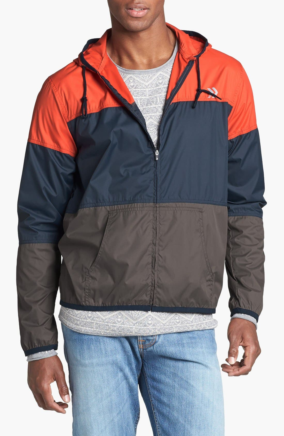 Alternate Image 1 Selected - Athletic Recon 'General' Colorblock Windbreaker