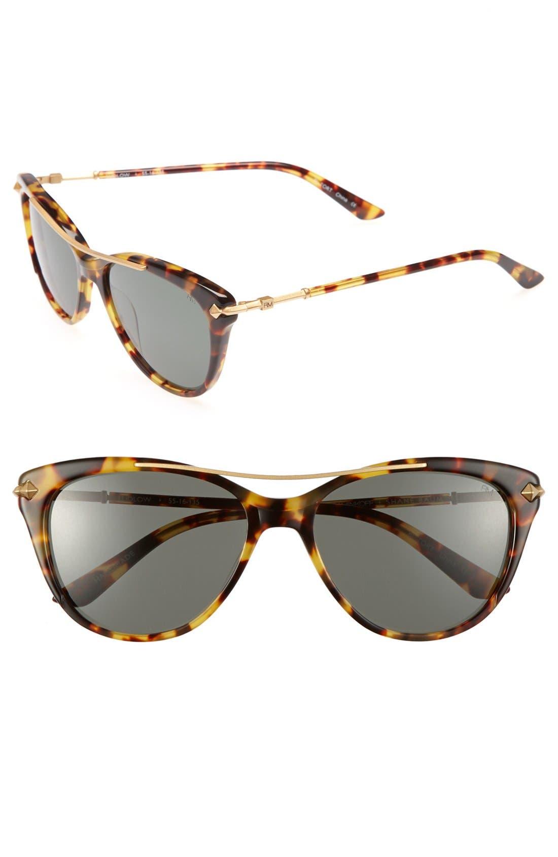 Alternate Image 1 Selected - Rebecca Minkoff 'Ludlow' 55mm Sunglasses