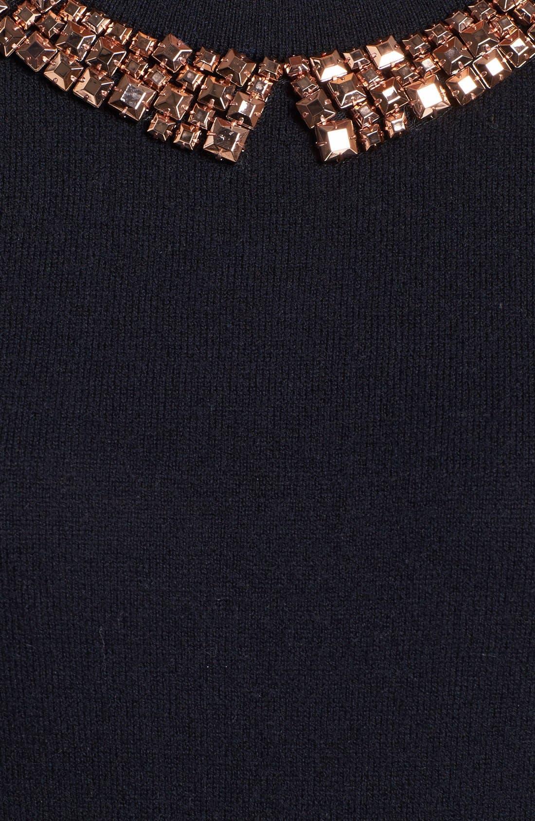 Alternate Image 3  - kate spade new york 'avaline' embellished sweater
