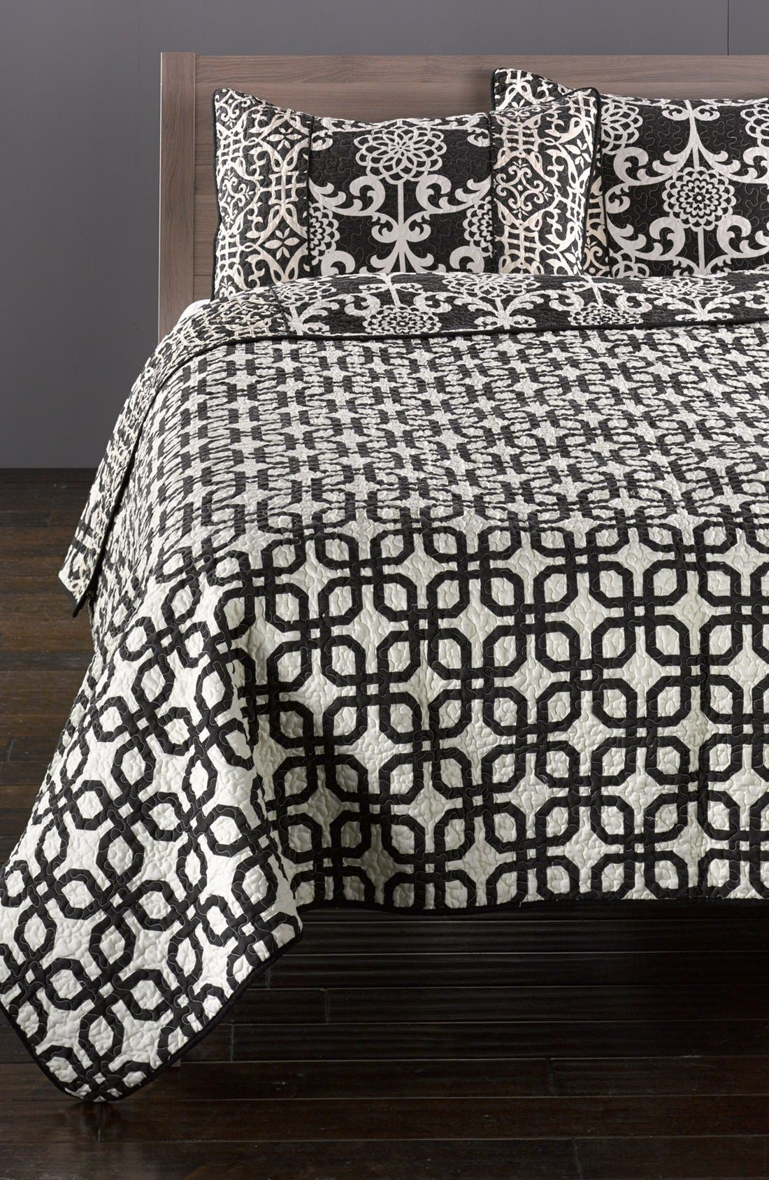 Alternate Image 2  - Hedaya Home Fashions 'Carlton' Reversible Quilt