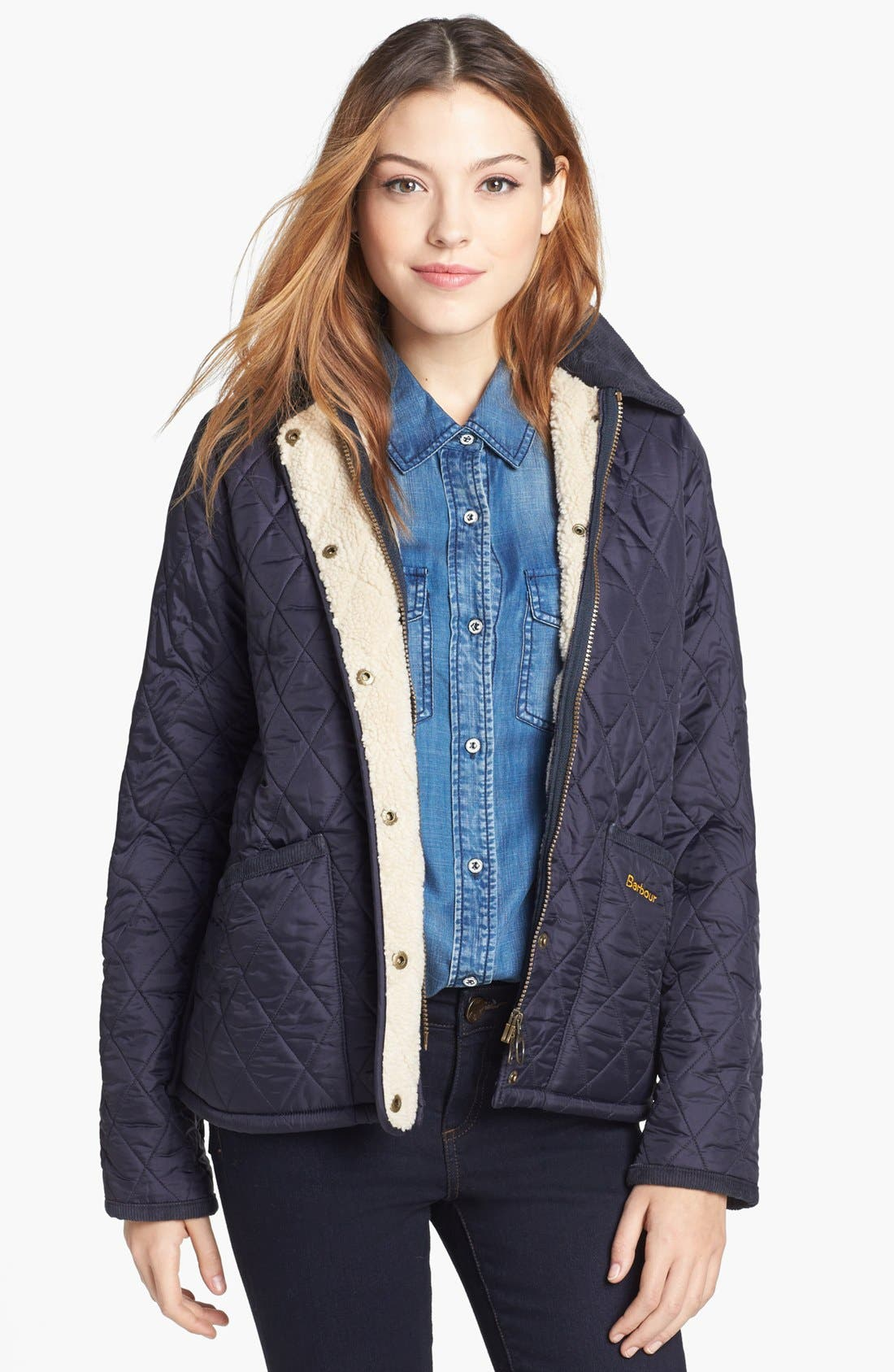 Main Image - Barbour 'Vintage Liddesdale' Quilted Jacket