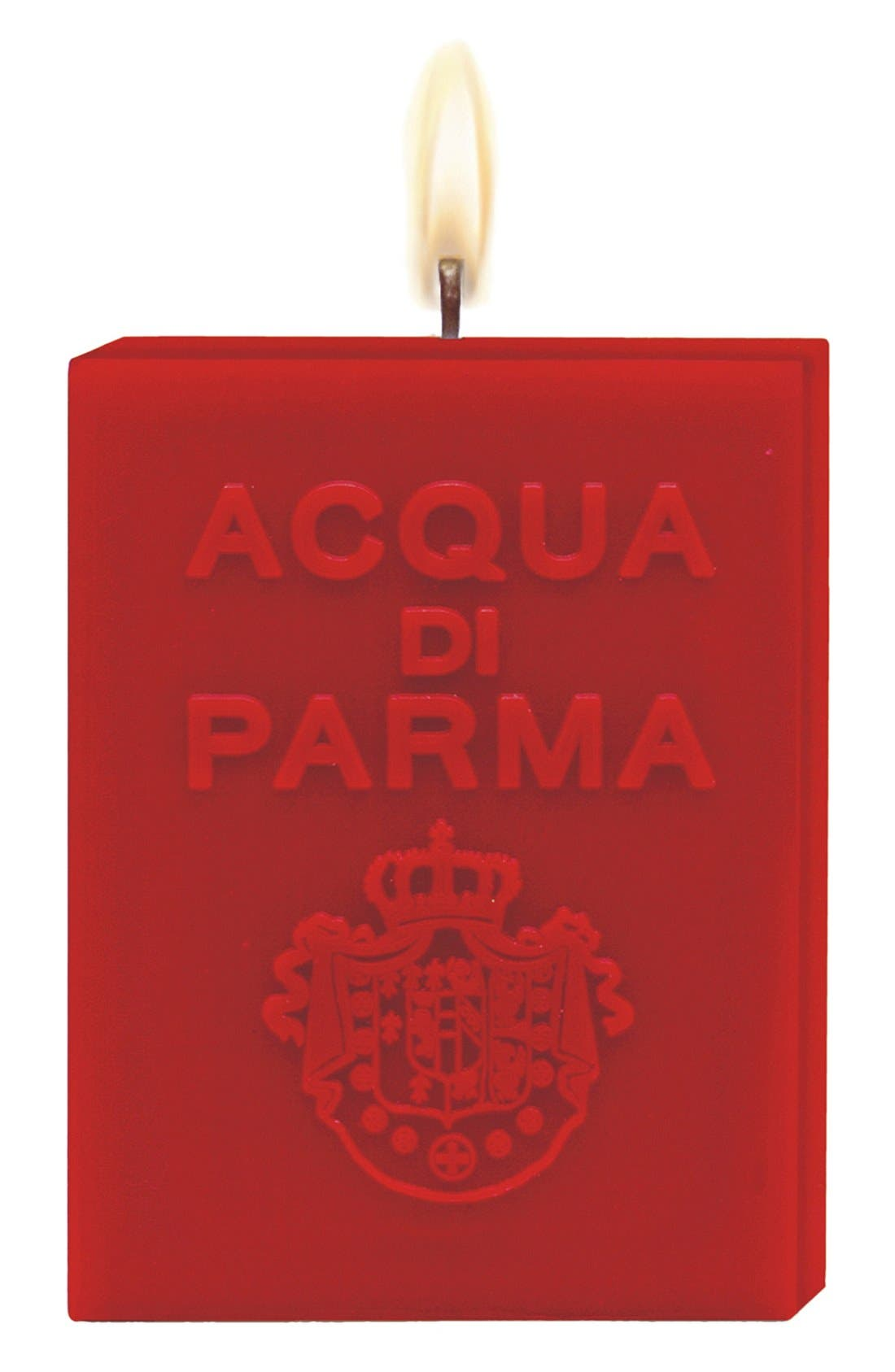 Alternate Image 1 Selected - Acqua di Parma 'Red' Cube Candle