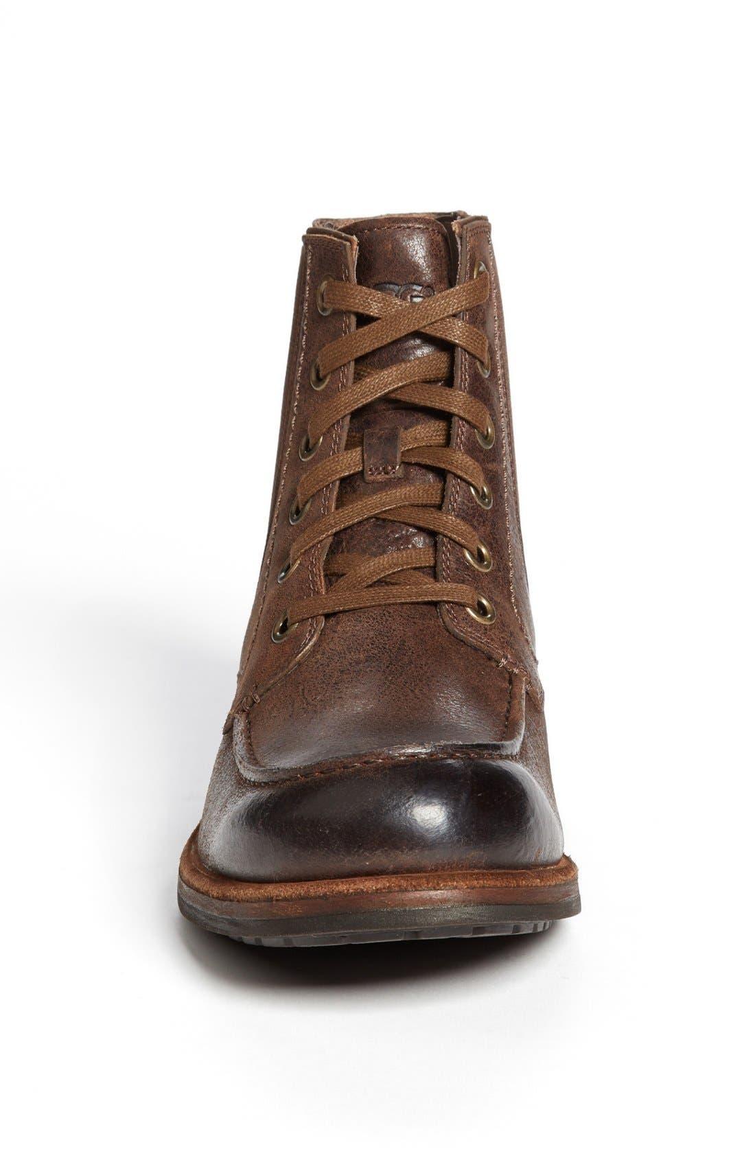 Alternate Image 3  - UGG® Australia 'Jarrett' Moc Toe Boot (Men)