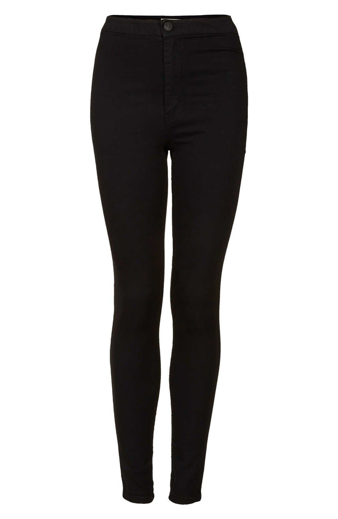 Alternate Image 3  - Topshop Moto 'Joni' High Rise Skinny Jeans (Regular & Short)