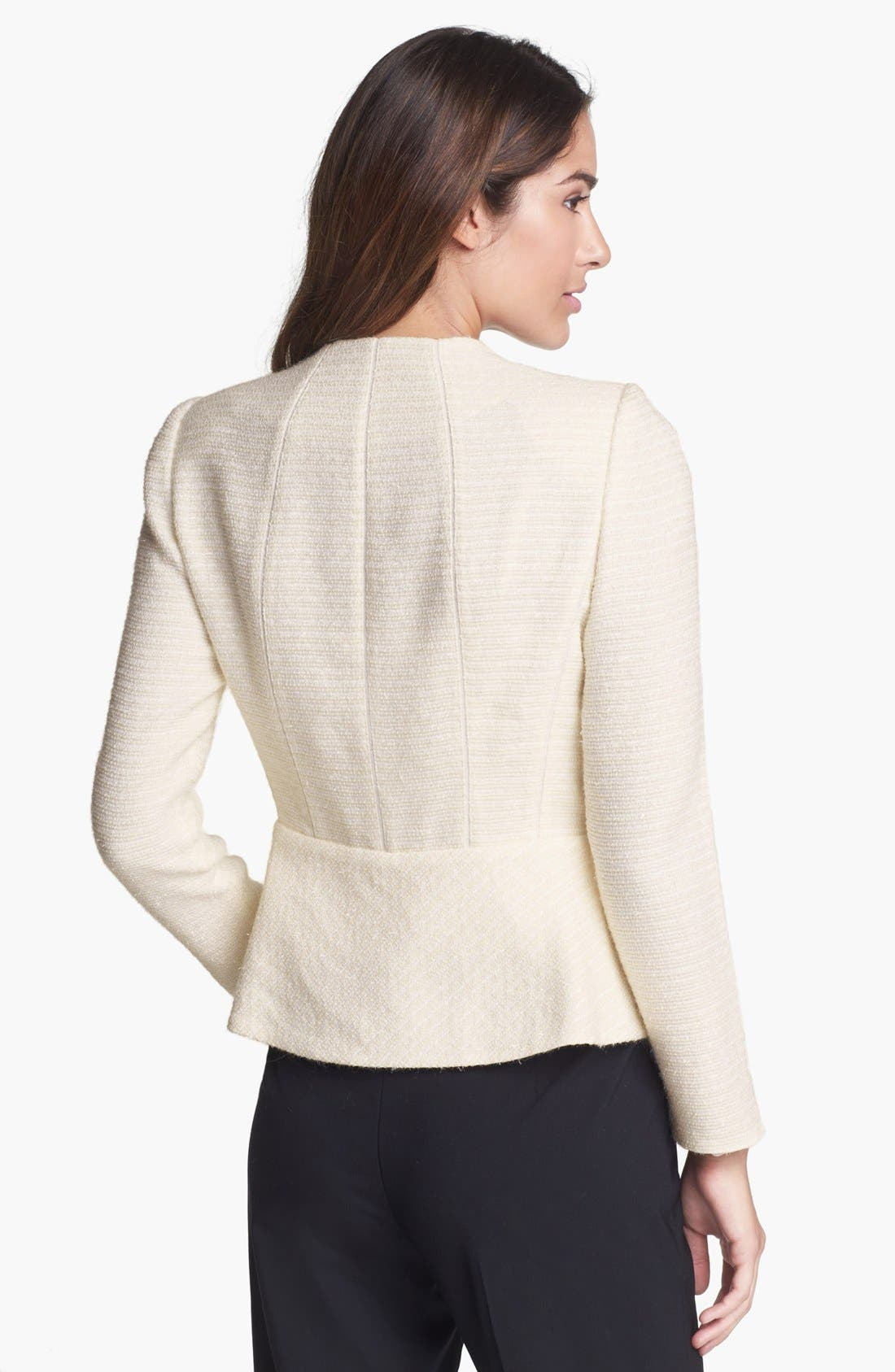 Alternate Image 2  - Lafayette 148 New York 'Donatella' Tweed Jacket