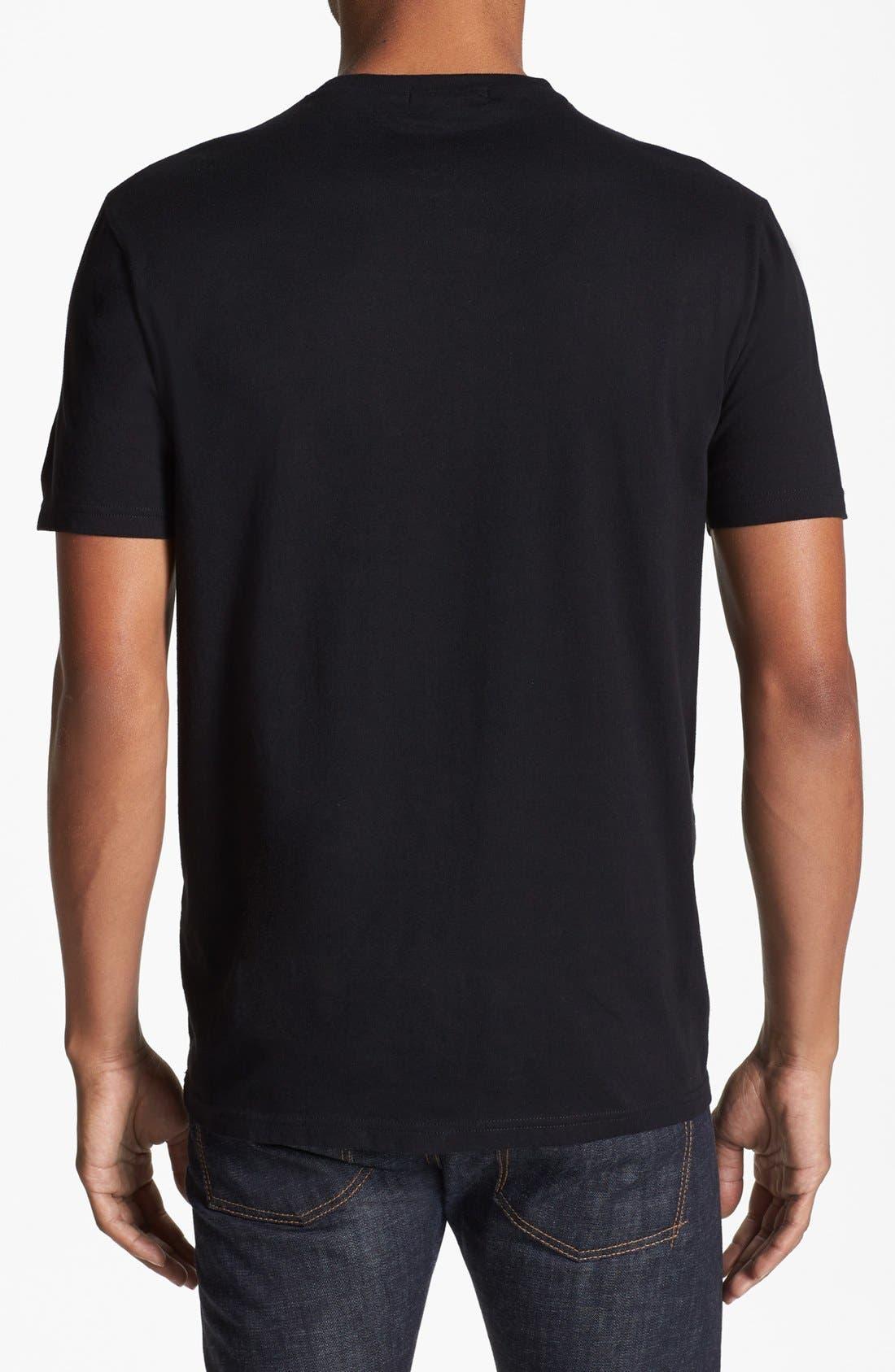 Alternate Image 2  - Topman Pattern Yoke T-Shirt