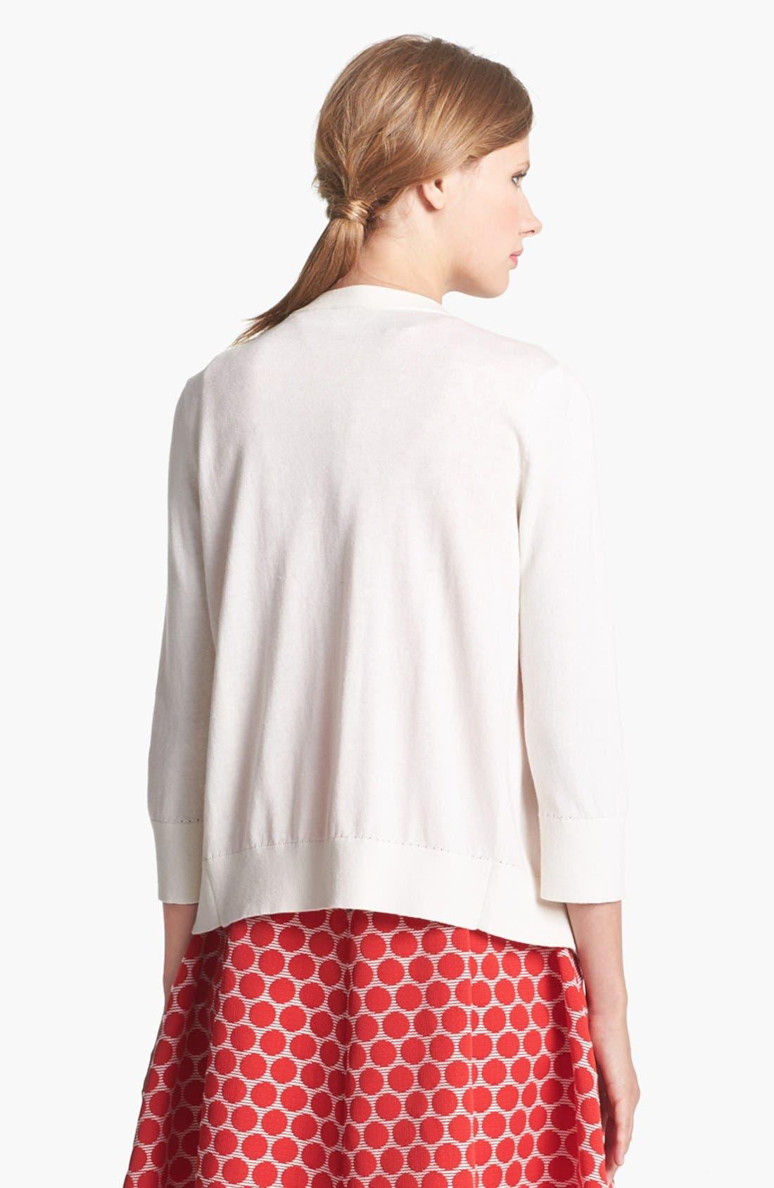 Alternate Image 2  - kate spade new york 'addington' embellished cardigan