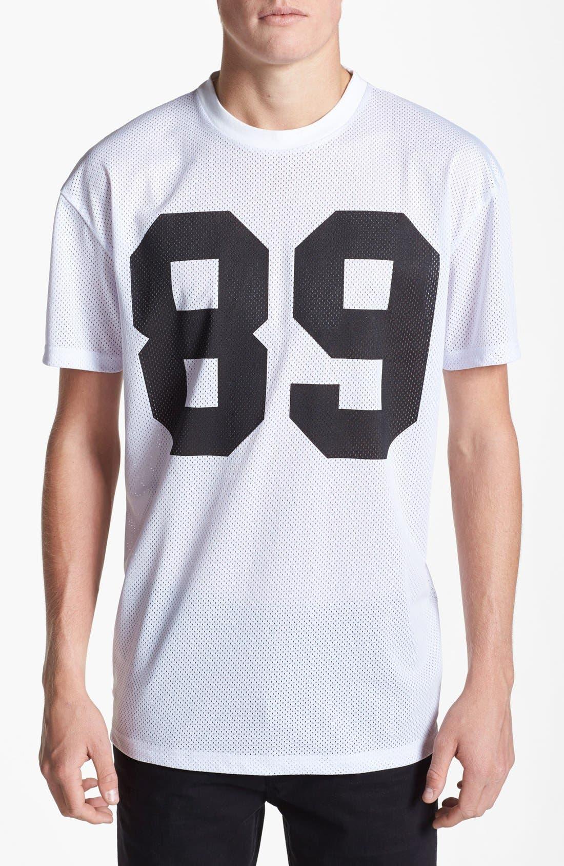 Alternate Image 1 Selected - Topman Mesh T-Shirt