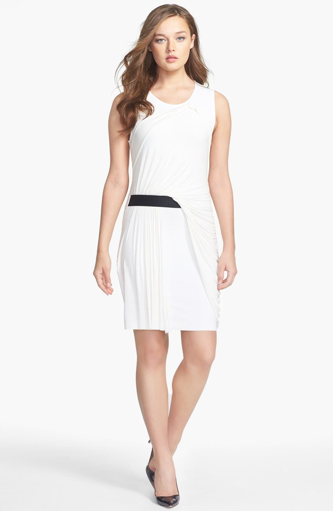 Alternate Image 1 Selected - B44 Dressed by Bailey 44 'Quasar' Draped Ponte Knit Dress