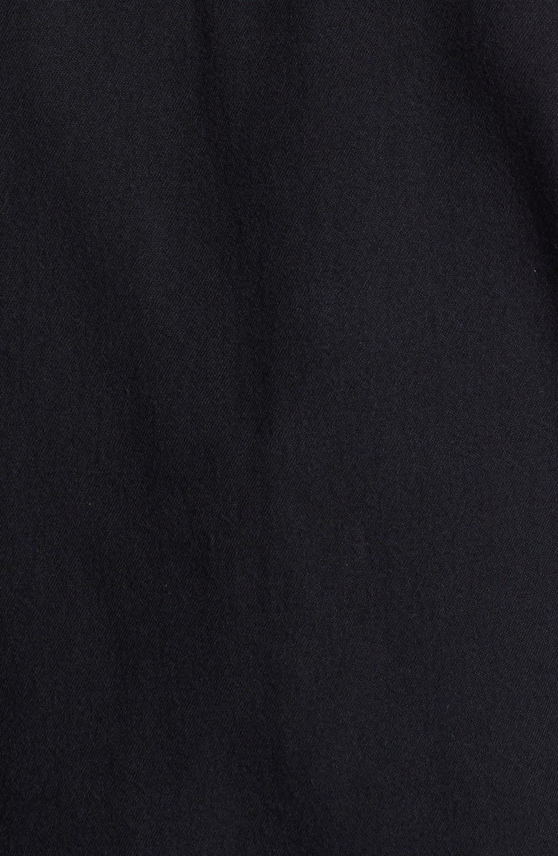 Alternate Image 3  - Topman Black Denim Shirt