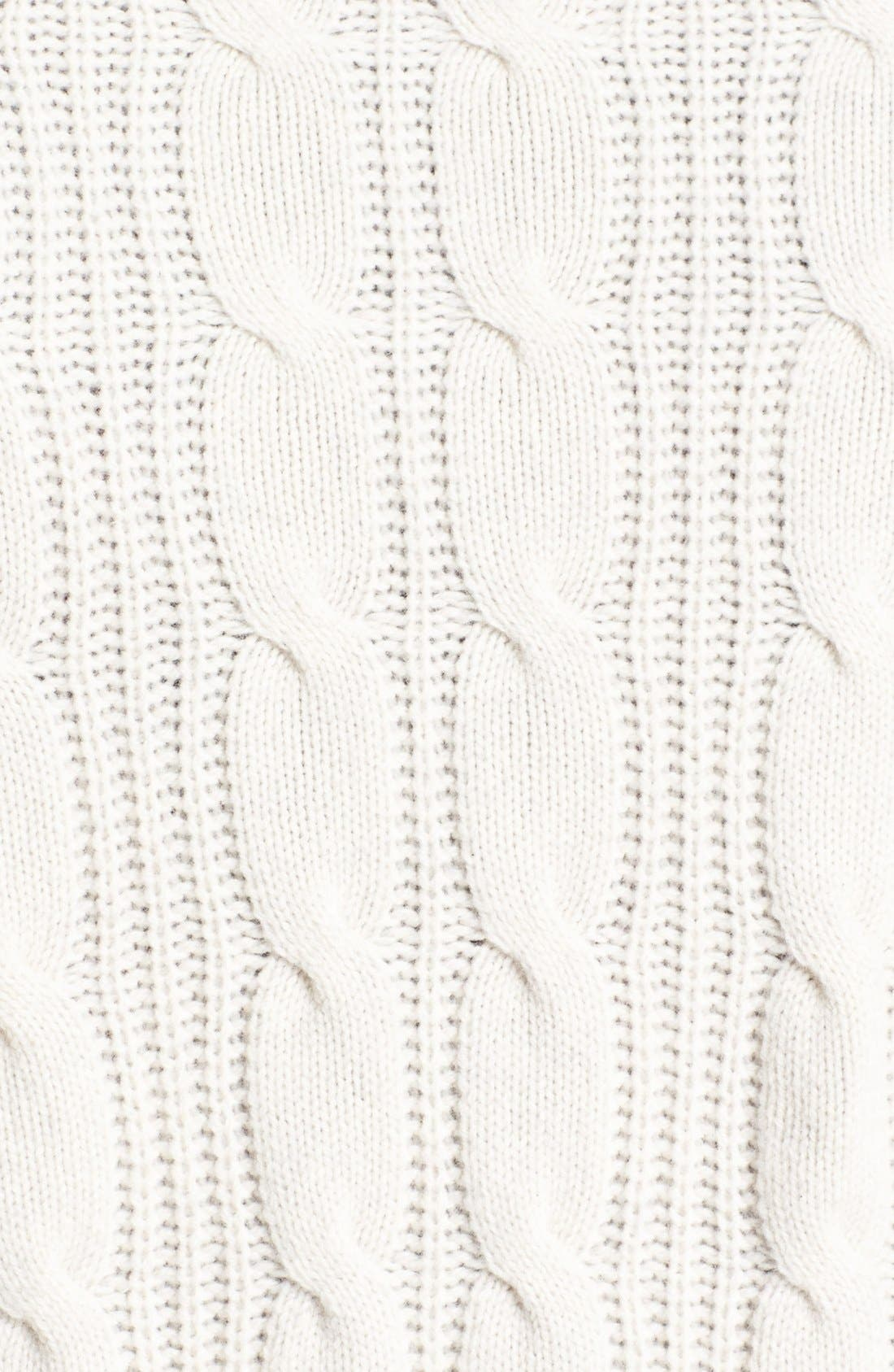 Alternate Image 3  - Wallin & Bros. Cable Knit Sweater