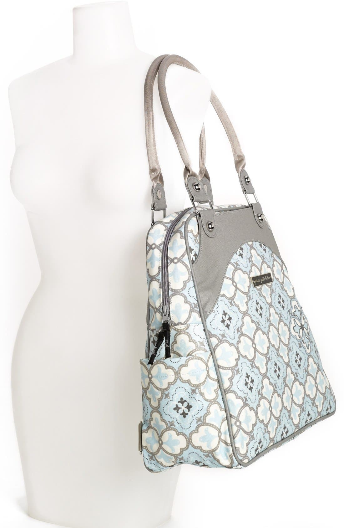 Alternate Image 2  - Petunia Pickle Bottom 'Sashay Satchel' Glazed Diaper Bag