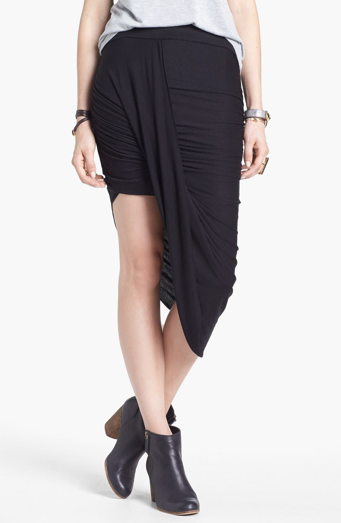 Main Image - Free People 'Twist and Shout' Draped Skirt
