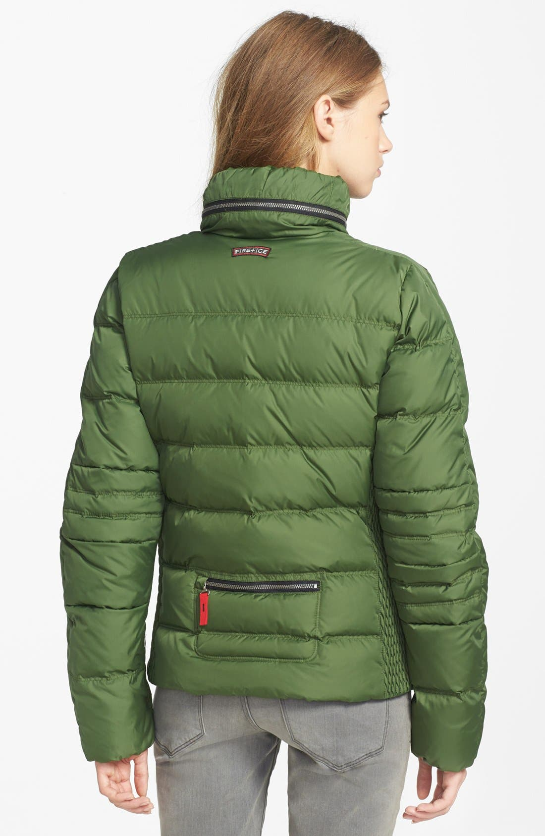 Alternate Image 2  - Bogner Channel Quilted Down Jacket