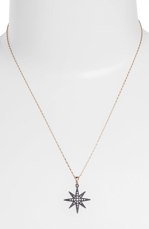 Mizuki icicles diamond star pendant necklace nordstrom main image mizuki icicles diamond star pendant necklace aloadofball
