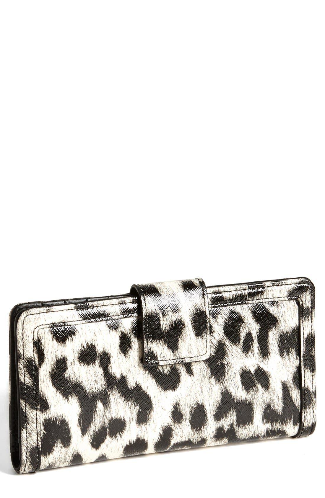 Alternate Image 1 Selected - Halogen® 'Victoria' Leather Wallet