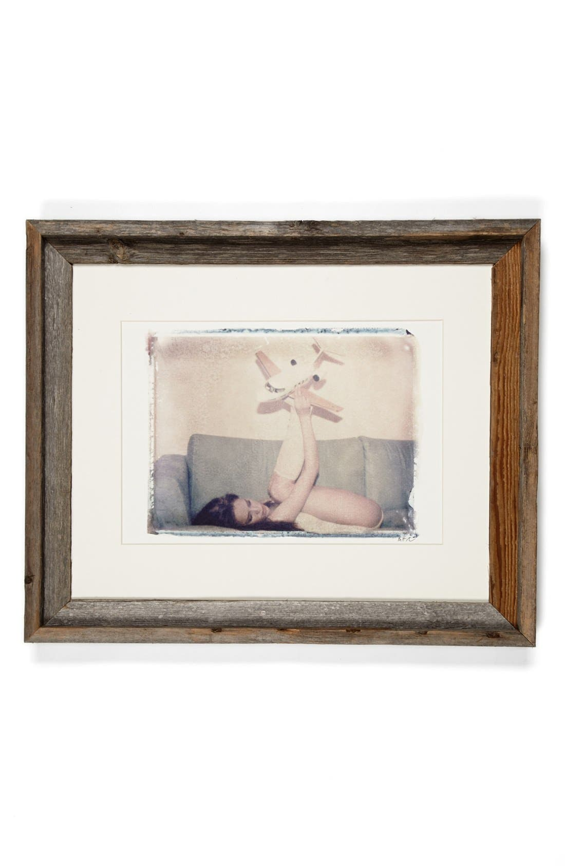 Alternate Image 1 Selected - She Hit Pause Studios 'Girl with Plane' Wall Art