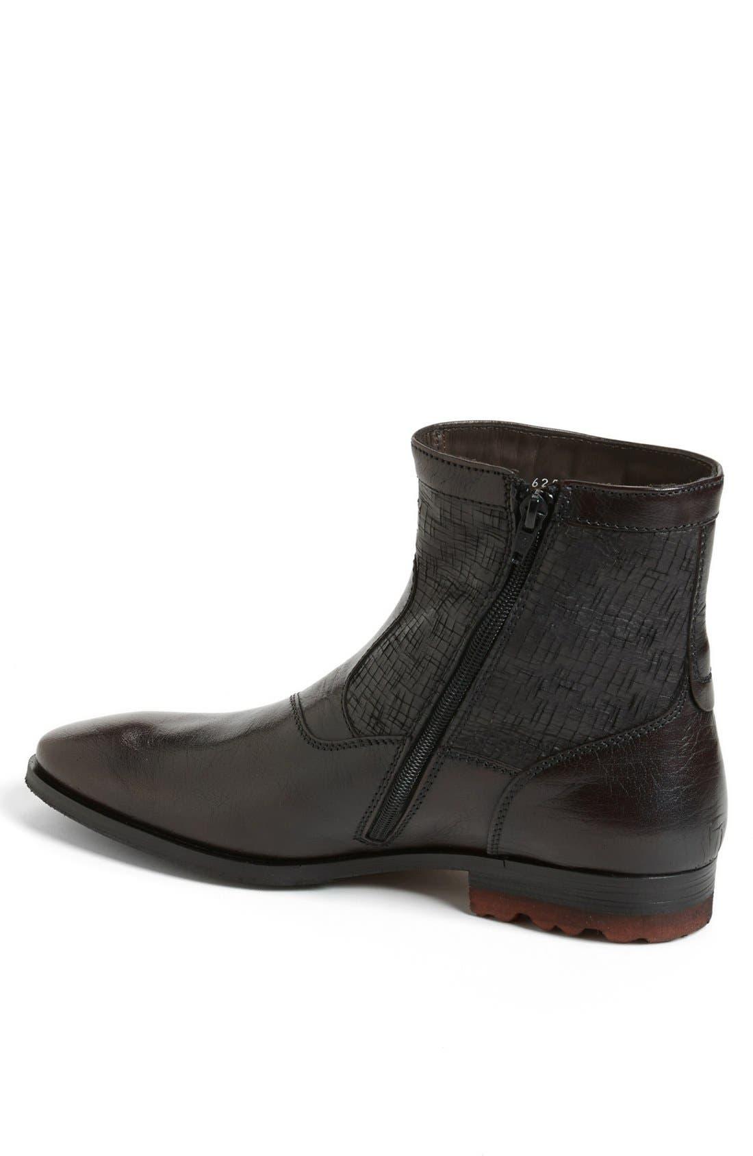 Alternate Image 2  - Bacco Bucci 'Devito' Zip boot (Men) (Online Only)