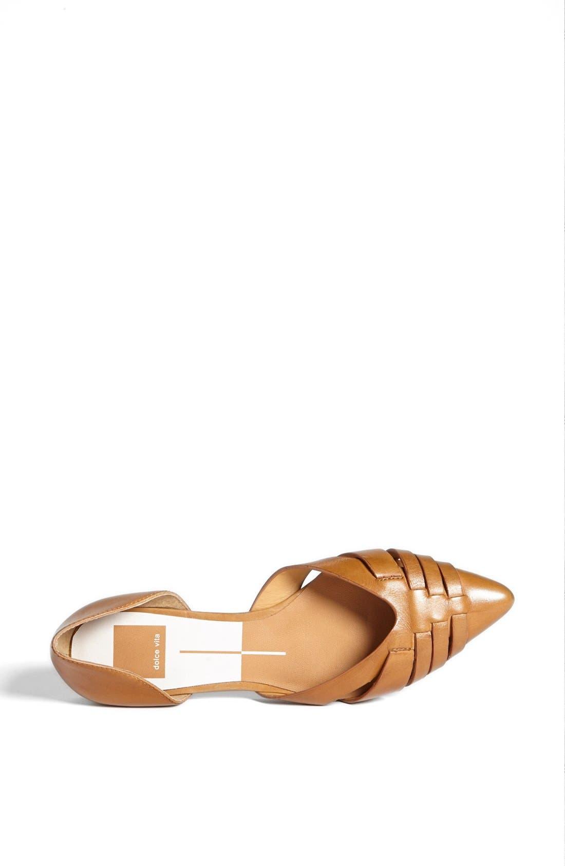 Alternate Image 3  - Dolce Vita 'Alpha' Leather Flat Sandal