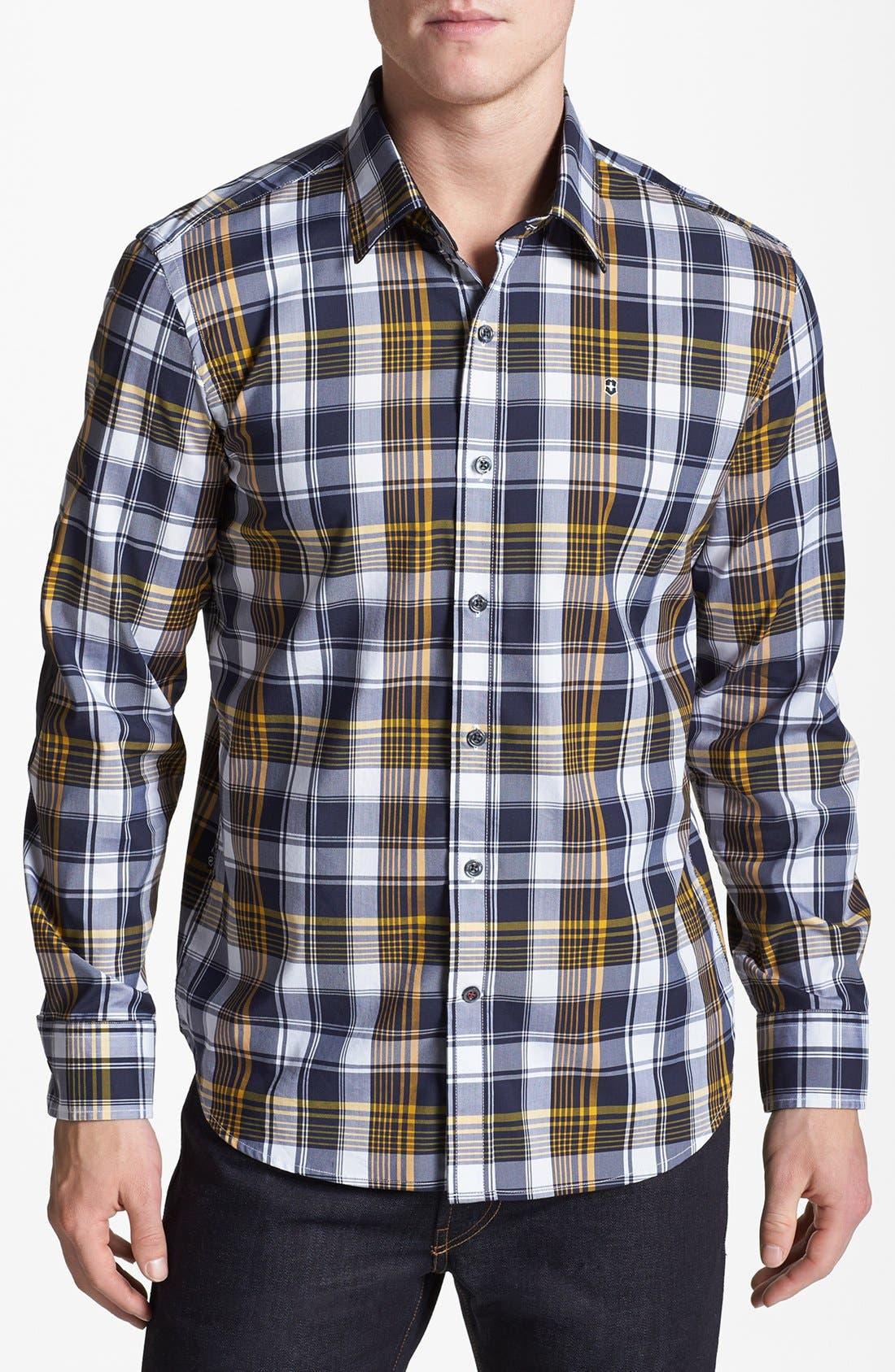 Alternate Image 1 Selected - Victorinox Swiss Army® 'Villamont' Tailored Fit Sport Shirt