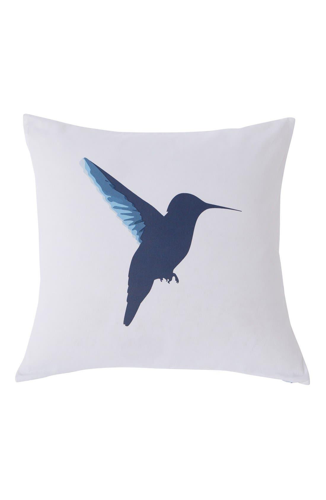 kensie Reversible Hummingbird Pillow