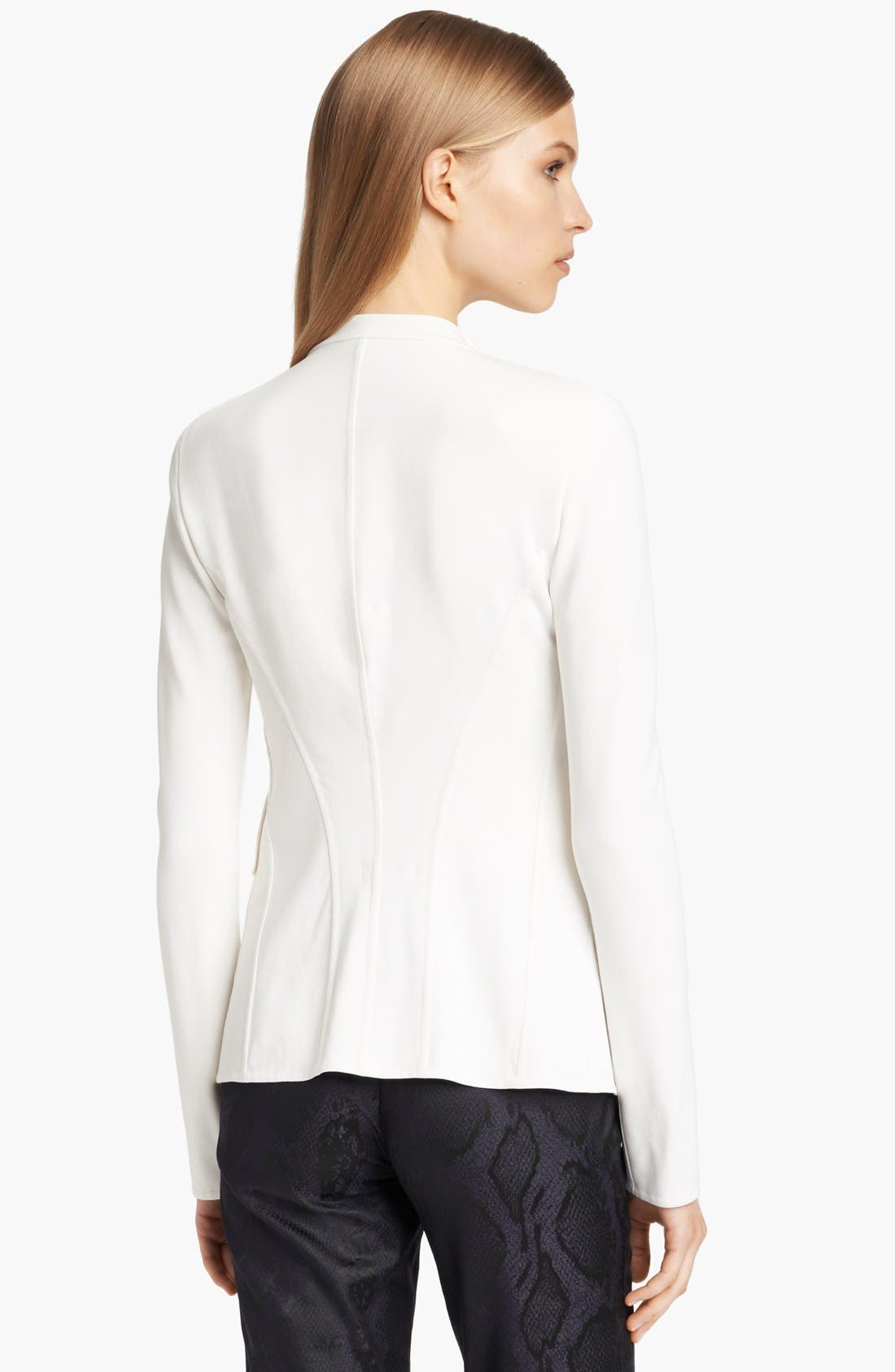 Alternate Image 2  - Donna Karan Collection Fitted Single Button Jacket