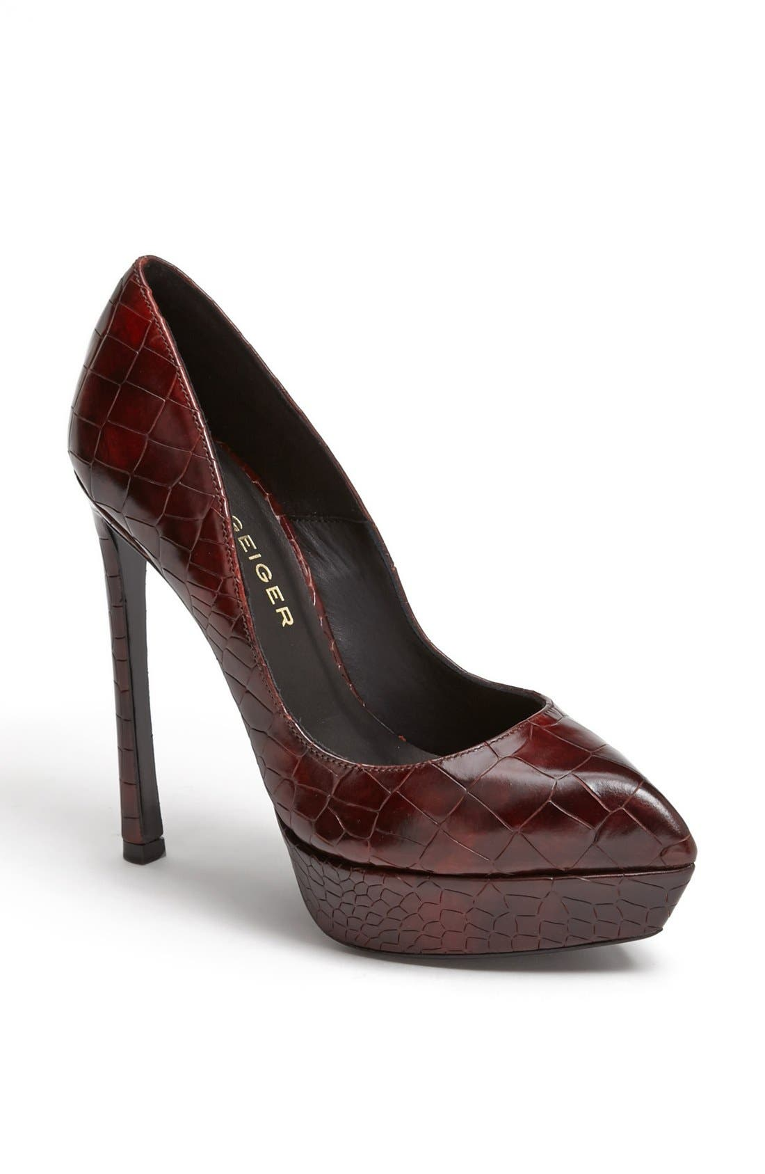 Alternate Image 1 Selected - Kurt Geiger London 'Empire Ultra' Pointy Toe Pump