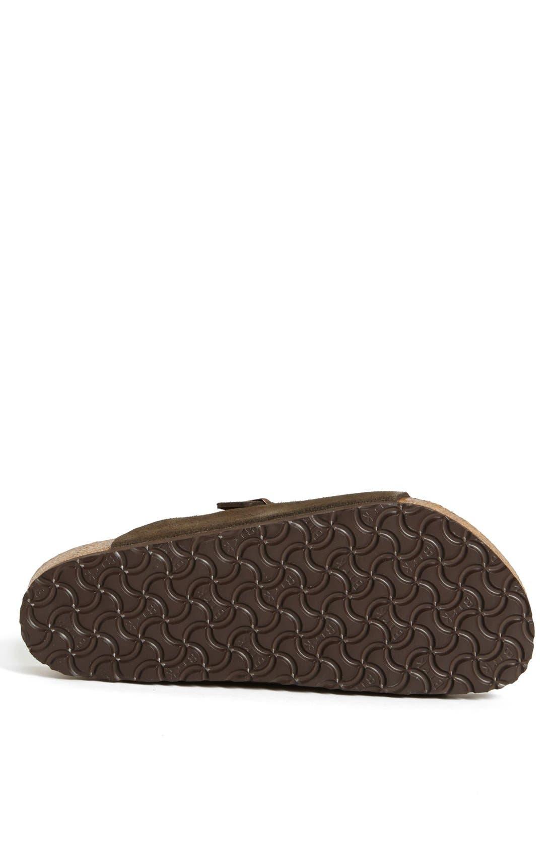 Alternate Image 4  - Birkenstock 'Zürich Soft' Sandal (Men)