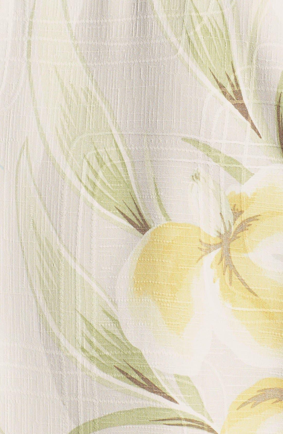 Alternate Image 3  - Tommy Bahama 'Iris You Were Here' Silk Campshirt