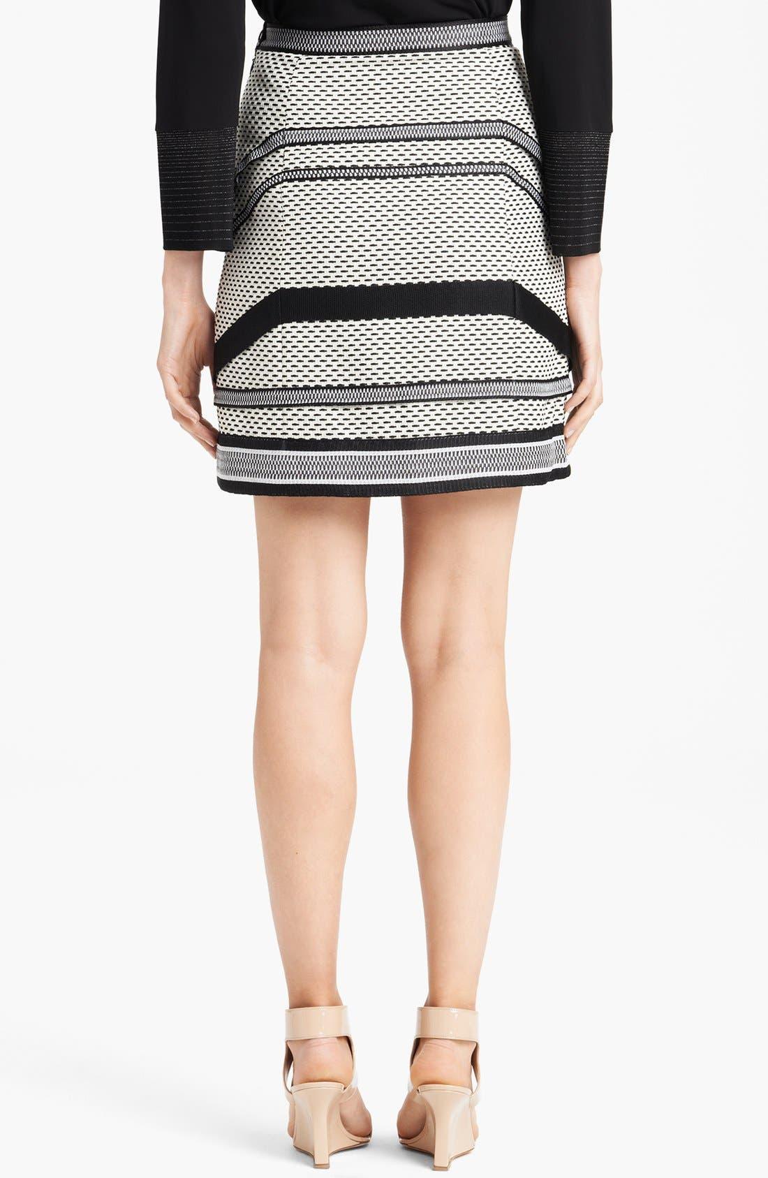 Alternate Image 2  - Missoni Short Basket Weave Skirt