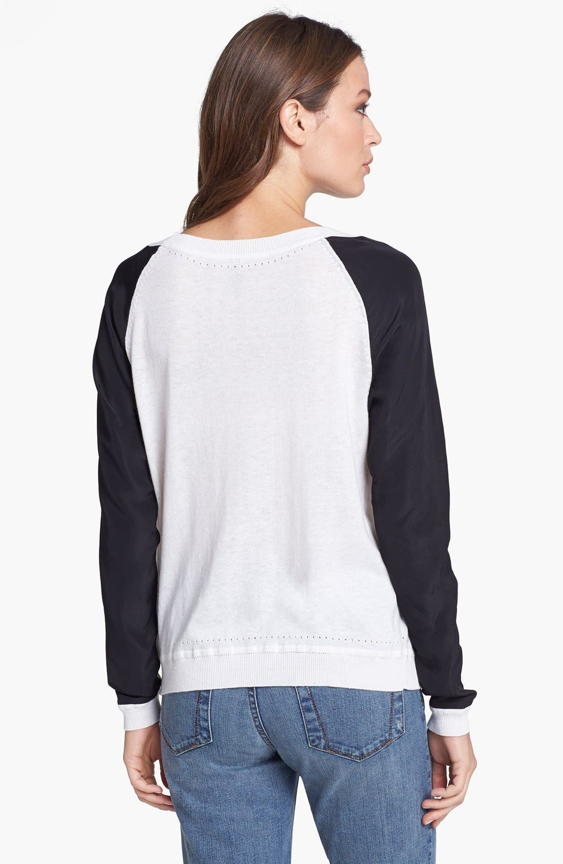 Alternate Image 2  - NYDJ Colorblock Sweater