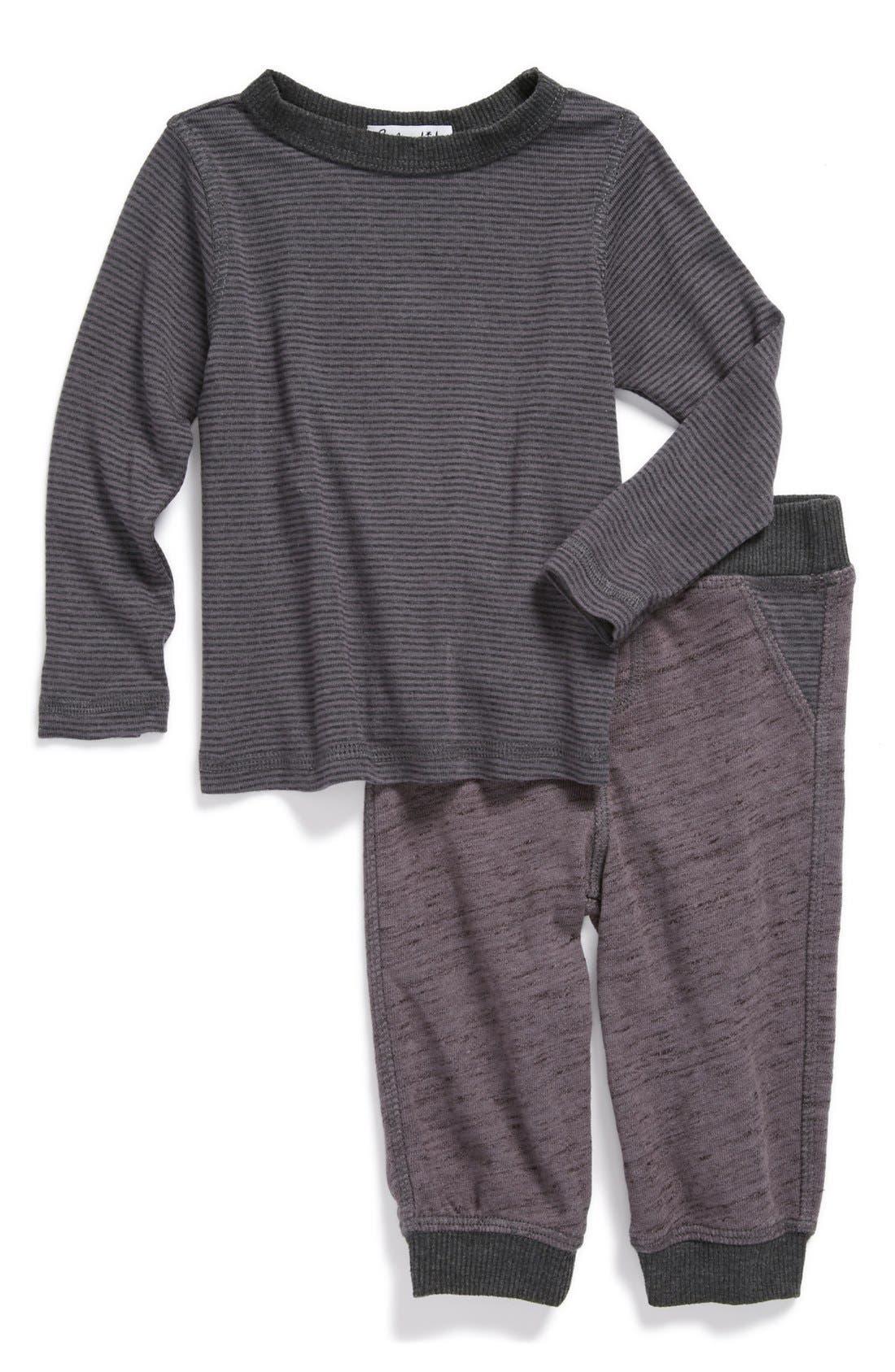 Alternate Image 1 Selected - Splendid T-Shirt & Pants (Baby)