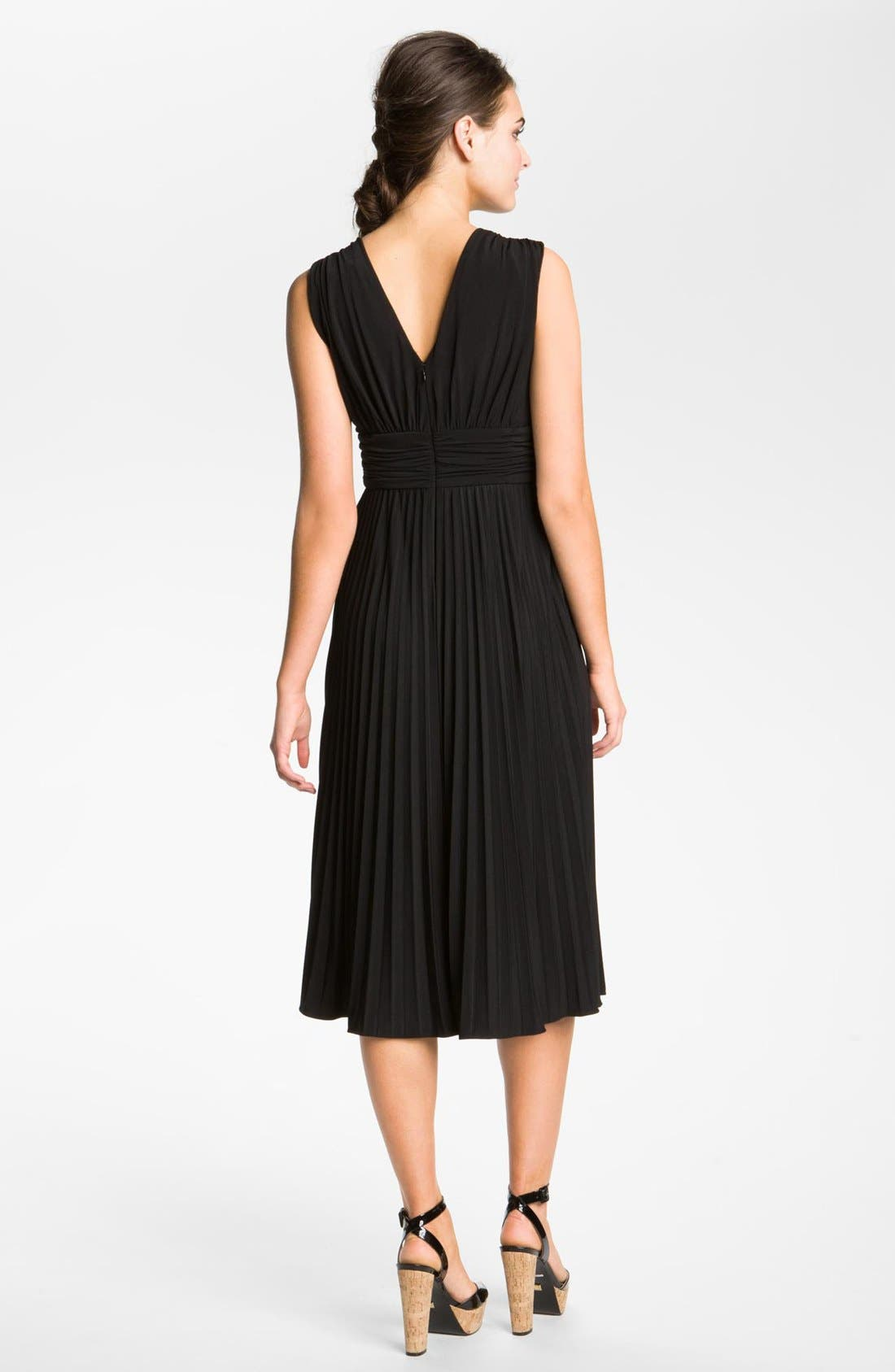 Alternate Image 2  - Ivy & Blu Ruched Jersey Dress
